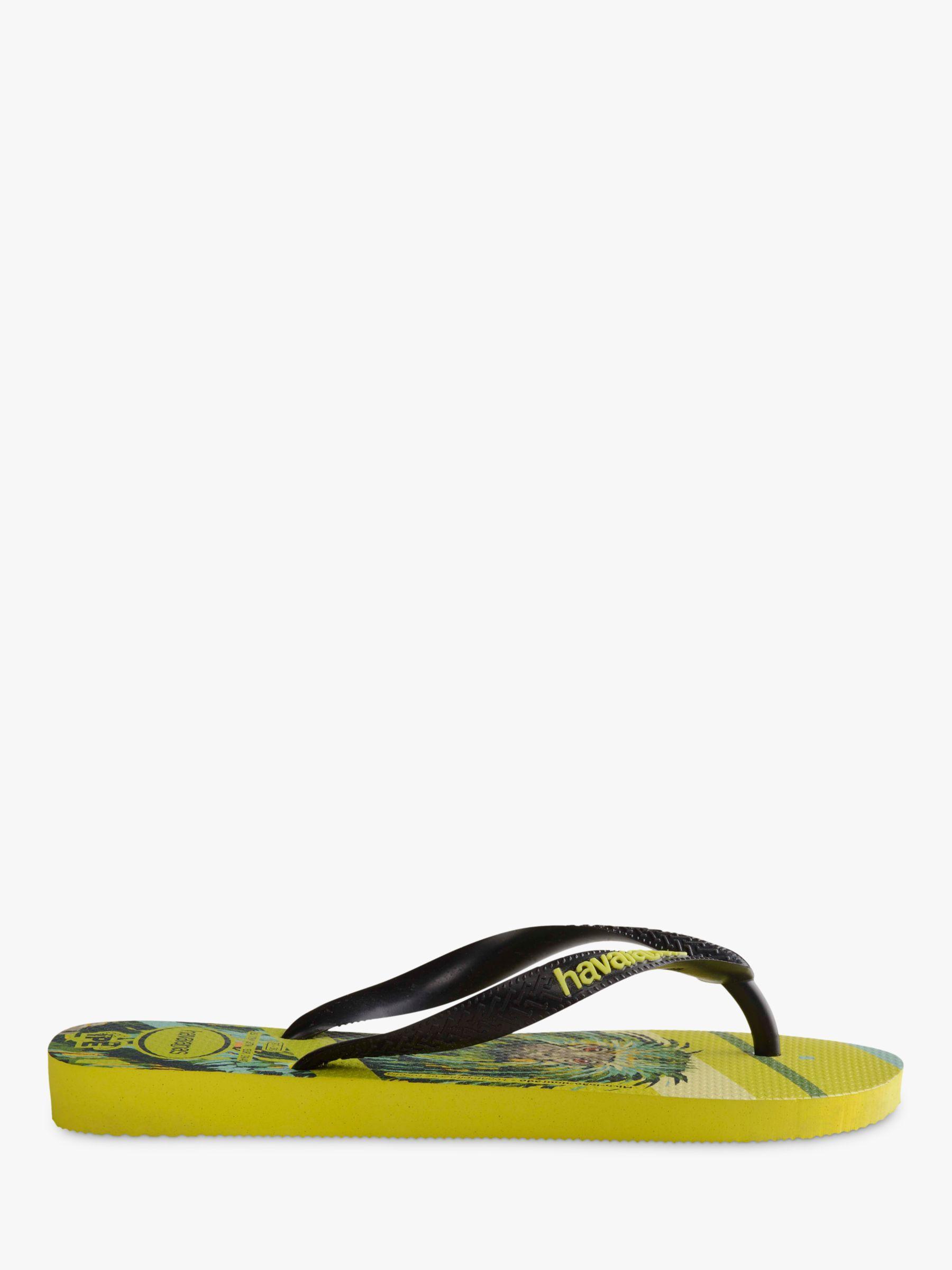 d20a97ef3157 Havaianas Monkey Print Flip Flops in Green for Men - Lyst