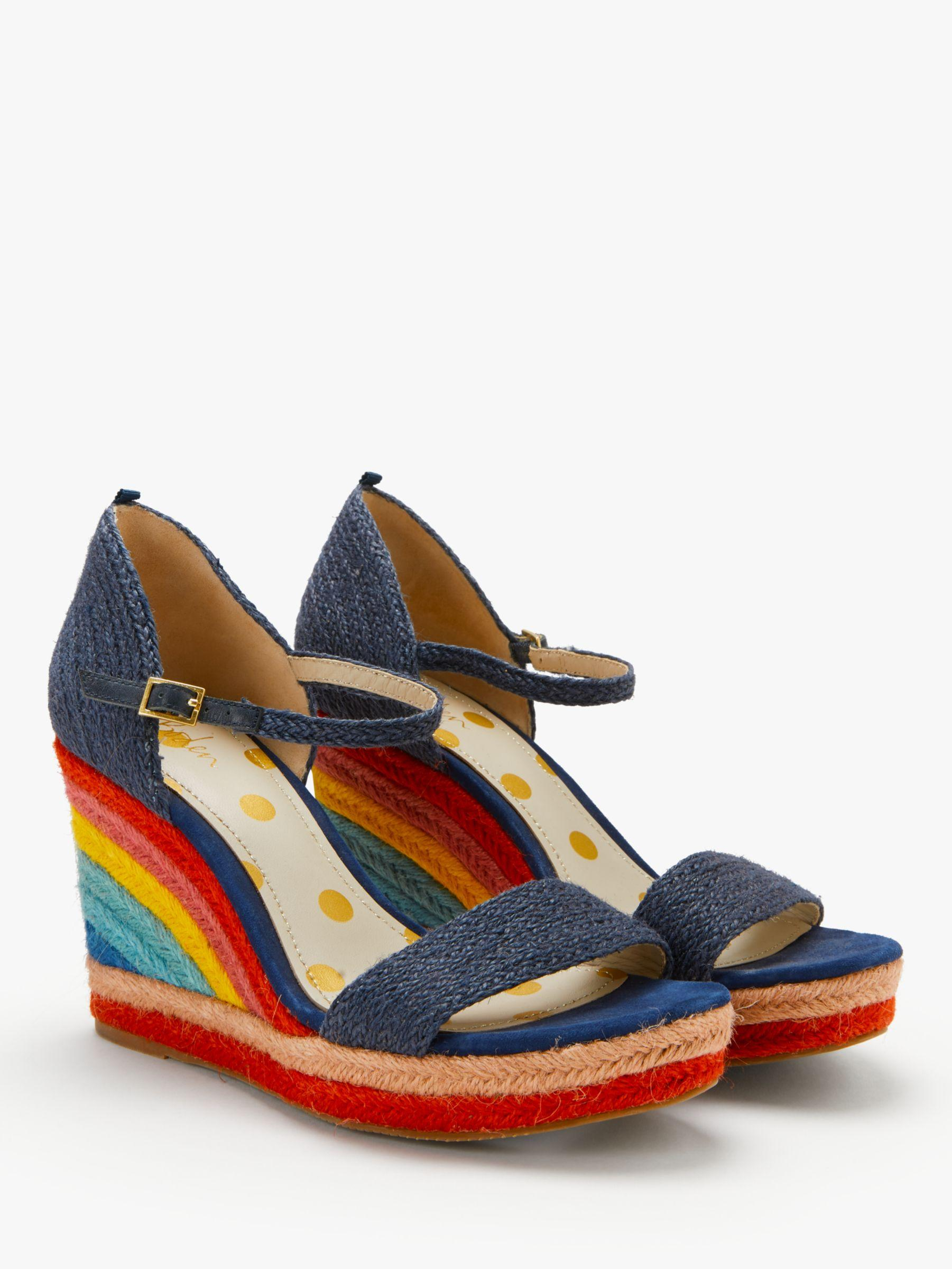 834e1c13ae8 Boden Lily Espadrille Wedges in Blue - Lyst