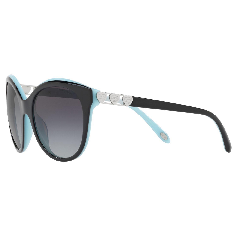 Tiffany & Co. Tf4140 Women's Oval Sunglasses in Grey