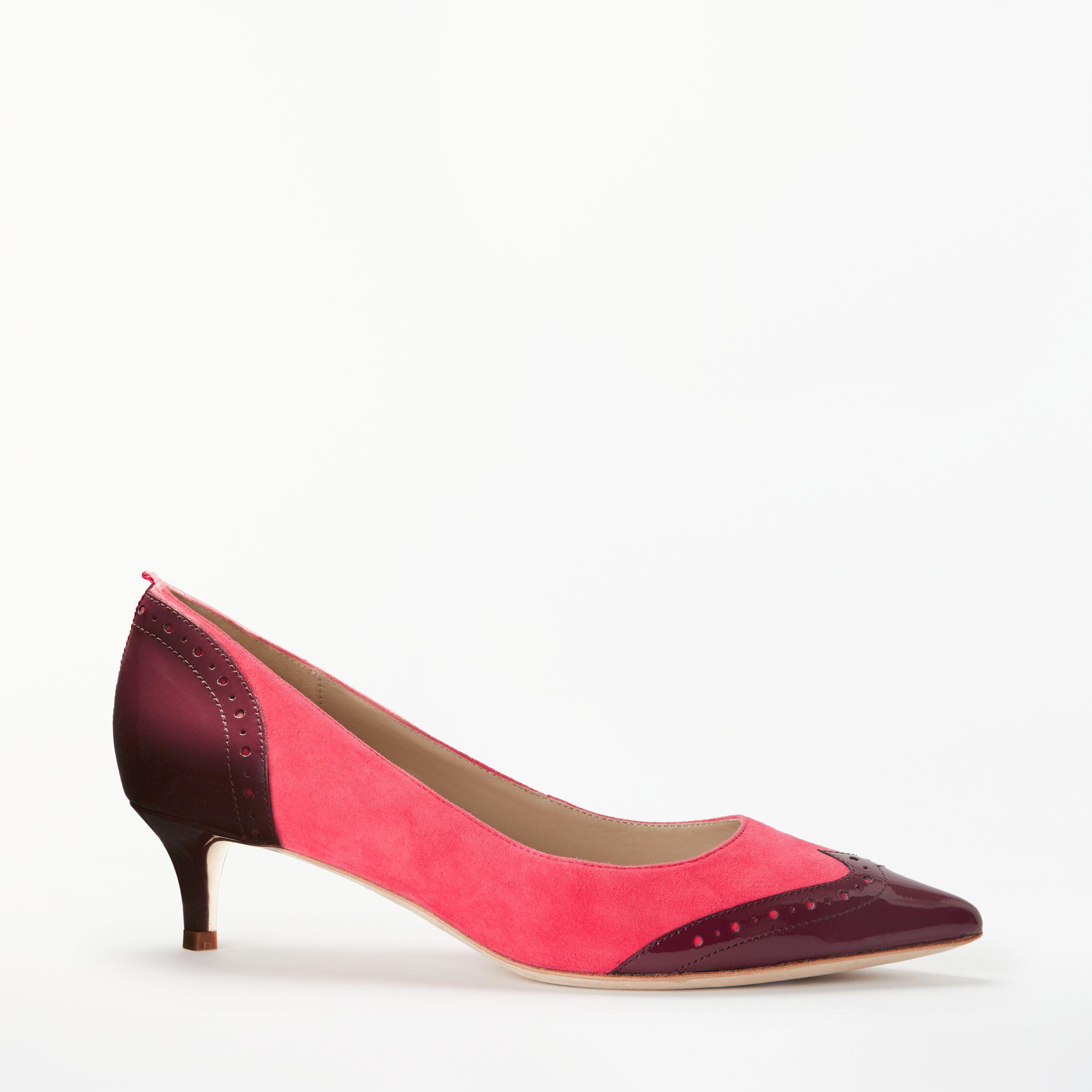 8d3629ef507c Boden Rosamund Stiletto Kitten Court Shoes - Lyst