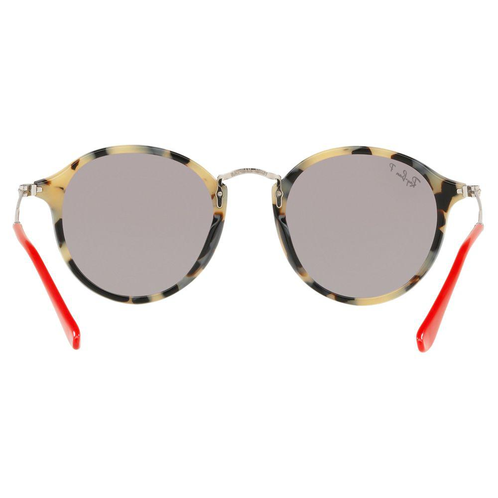 Ray-Ban Rb2447 Men's Round Sunglasses in Brown for Men