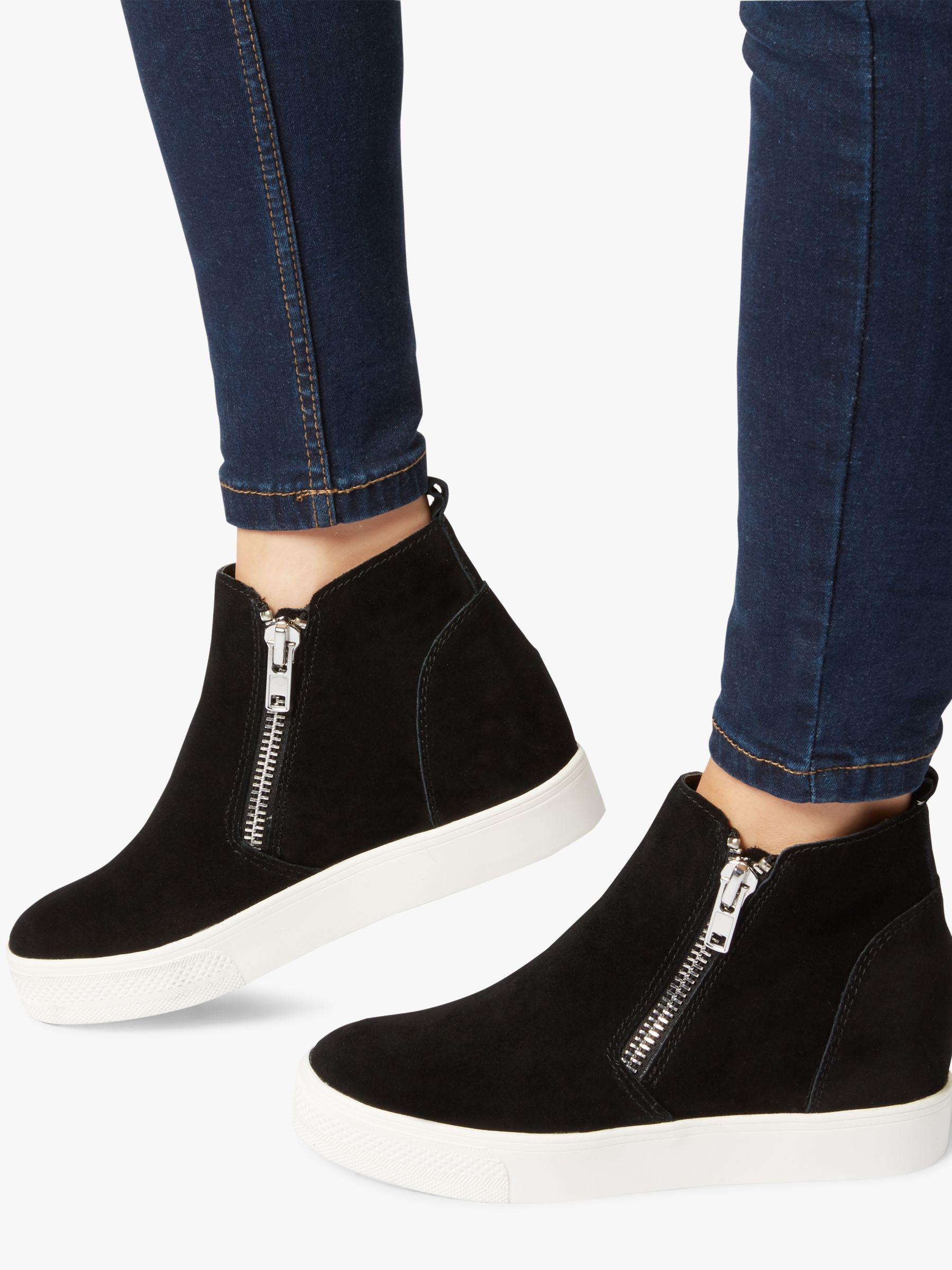 061e3d46dee Steve Madden Women s Wedgie Wedge Sneakers in Black - Lyst