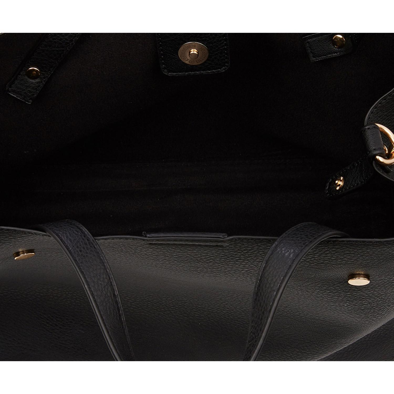 Oasis Harper Strap Detail Tote Bag in Black