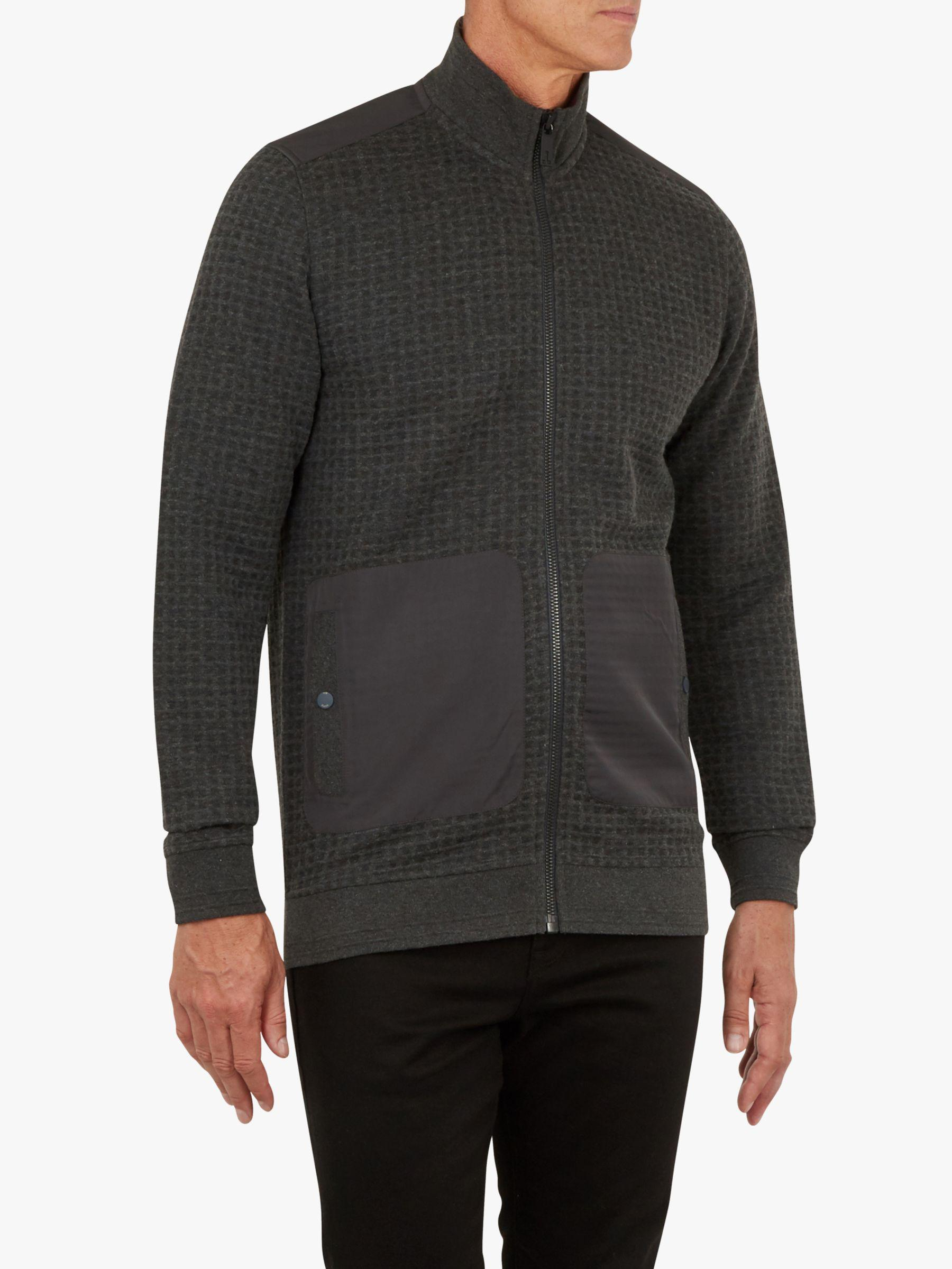 9b5585888 Ted Baker T For Tall Narn Quilted Funnel Neck Jacket in Gray for Men ...