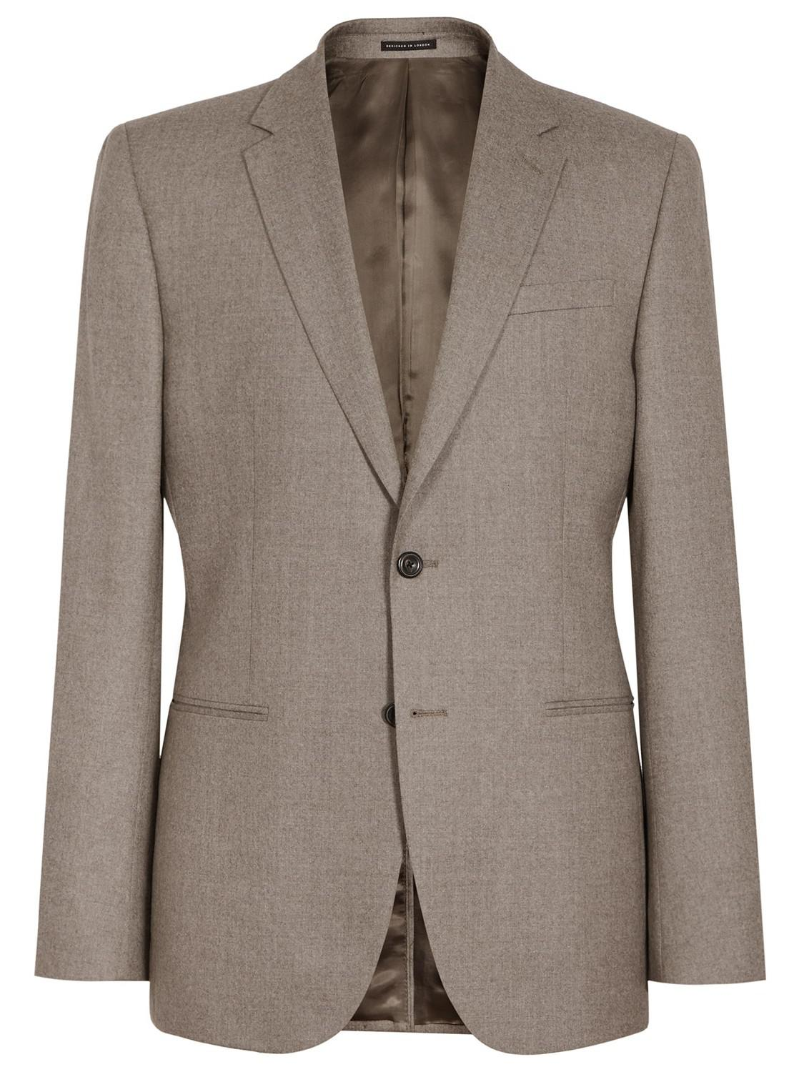 Reiss Wool Tuscan Super 120s Modern Fit Suit Jacket for Men