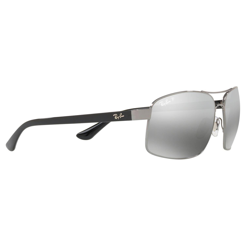 122e15d2a81e46 ... Ray-Ban Rb3604 Mens Square Sunglasses in Gray for Men - Lyst buy sale  5b0ec ...