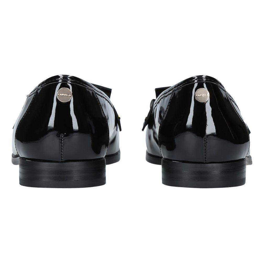 run shoes shop for newest discount shop Carvela Kurt Geiger Synthetic Magpie Tassel Loafers in Black ...