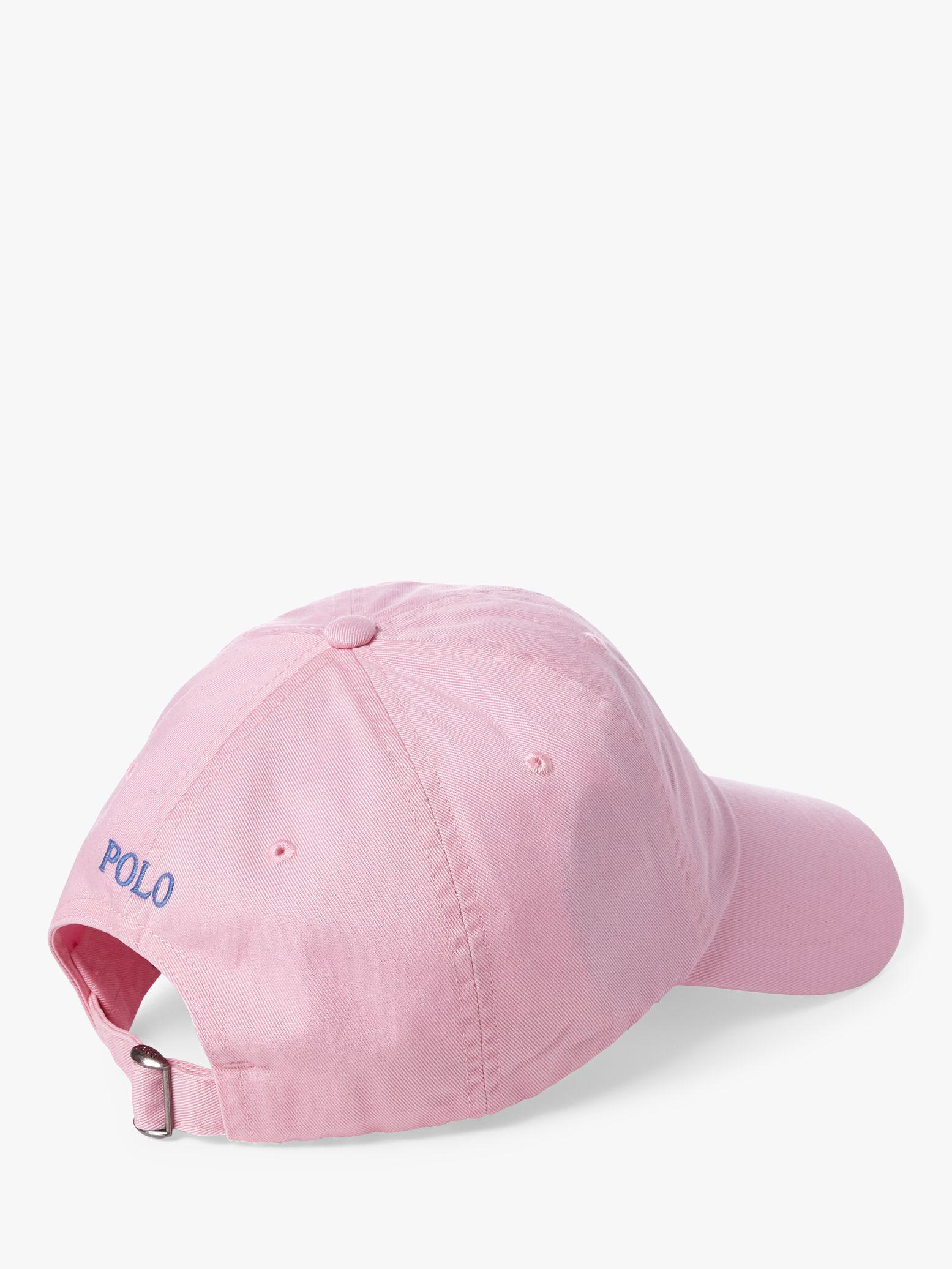 735edde8f4b3c Ralph Lauren Polo Signature Pony Baseball Cap in Pink for Men - Save ...