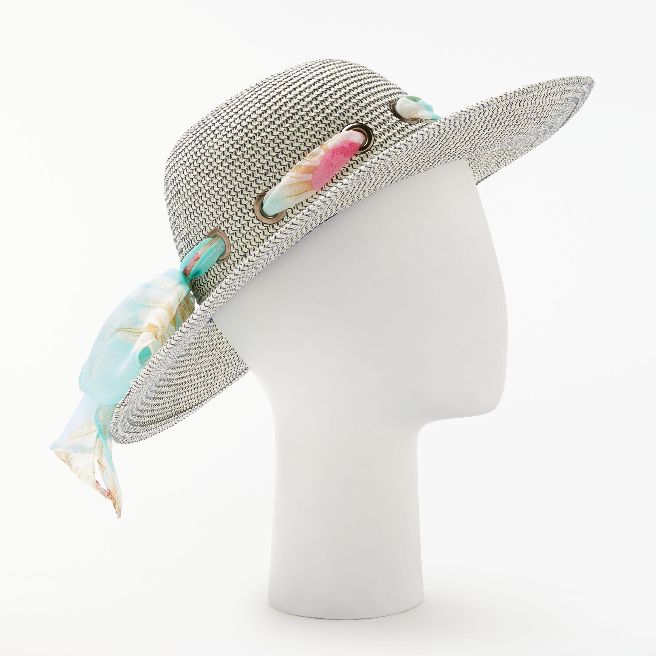 6a0cd46d John Lewis Aztec Packable Ribbon Detail Glam Floppy Sun Hat - Lyst