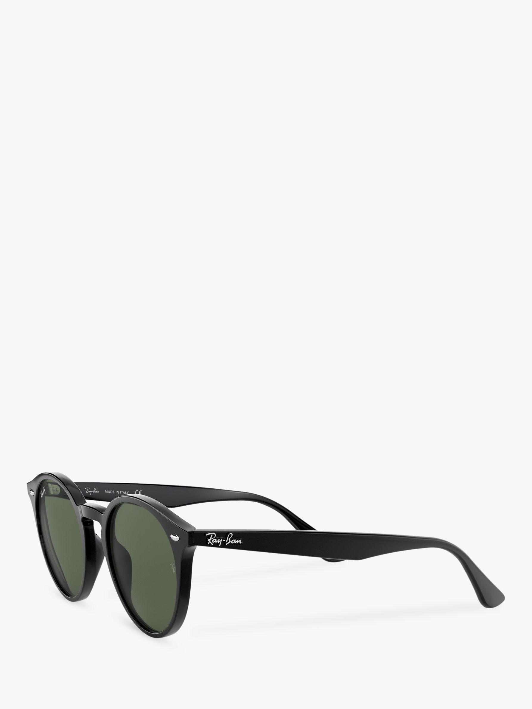 0977e15a91 Ray-Ban Rb2180 Men s Round Framed Sunglasses in Black for Men - Lyst