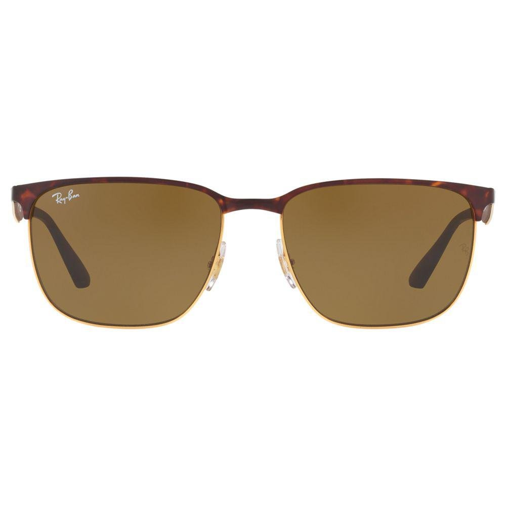 Ray-Ban Rb3569 Square Sunglasses in Tortoise/Brown (Brown) for Men