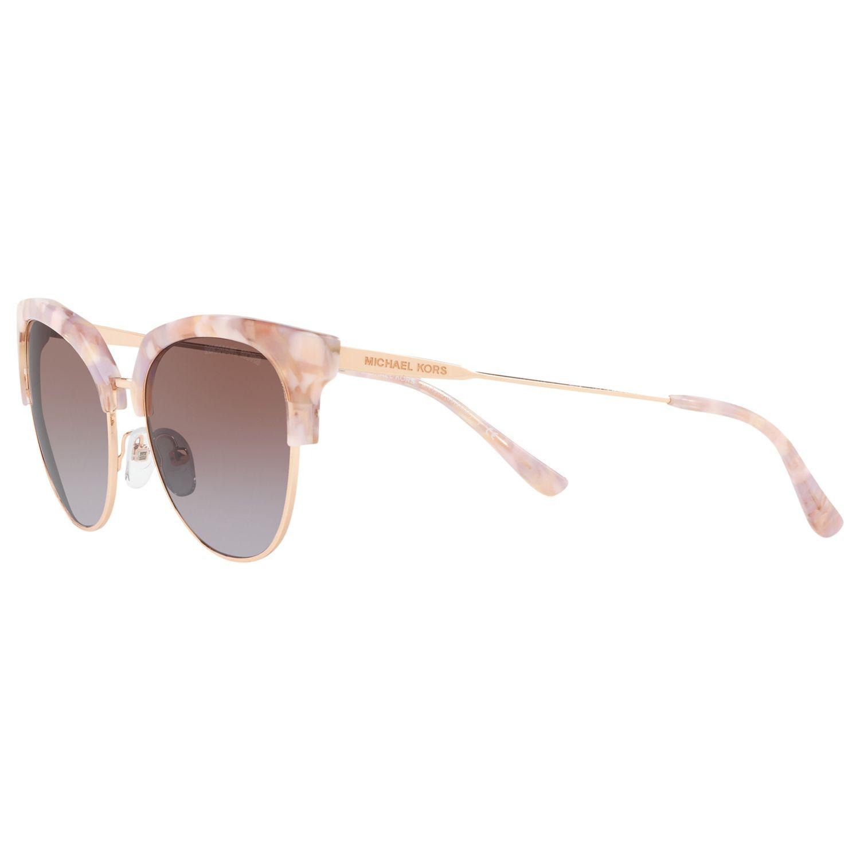 6acb376746e7 Michael Kors Pink Mk1033 Women's Savannah Cat's Eye Sunglasses. View  fullscreen