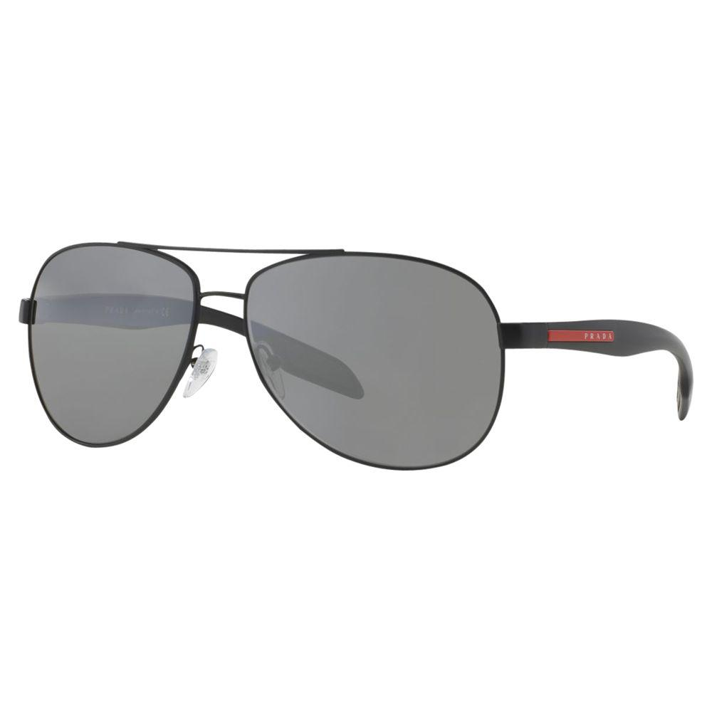 8ee1bc3a7bc1 Prada 0ps 53ps Sunglasses in Black for Men - Lyst