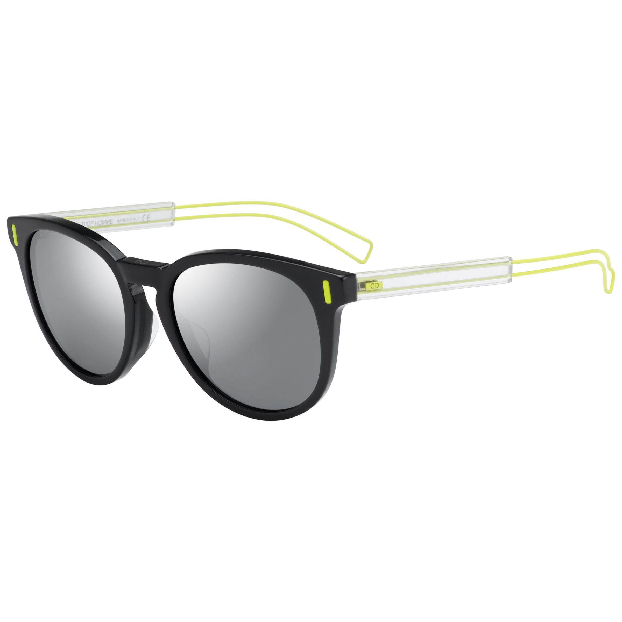 a2c0b7921df3 Dior Blacktie206fs Round Sunglasses in Black for Men - Lyst