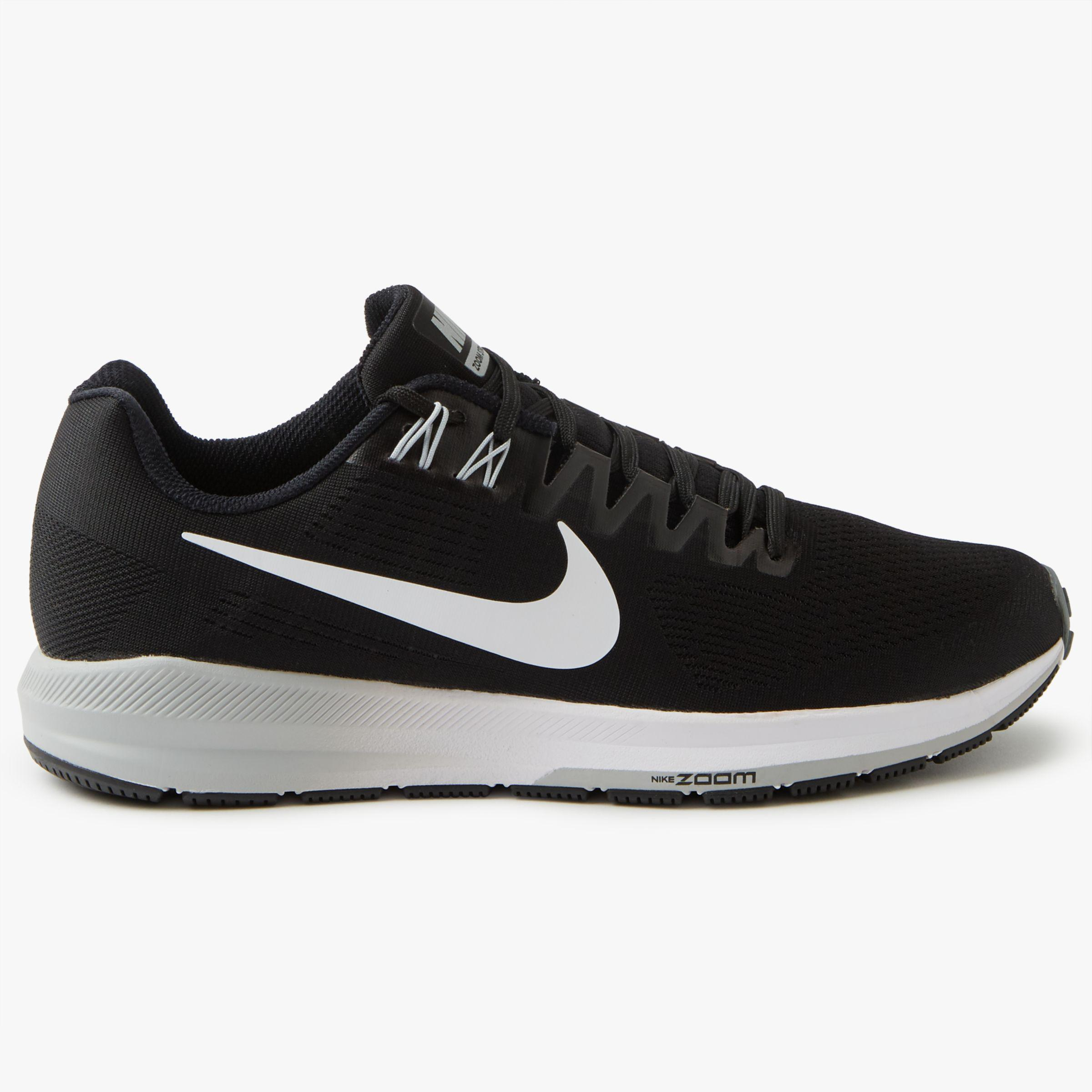 946f20dd8a2 Nike Air Zoom Structure 21 Men s Running Shoes in Black for Men - Lyst