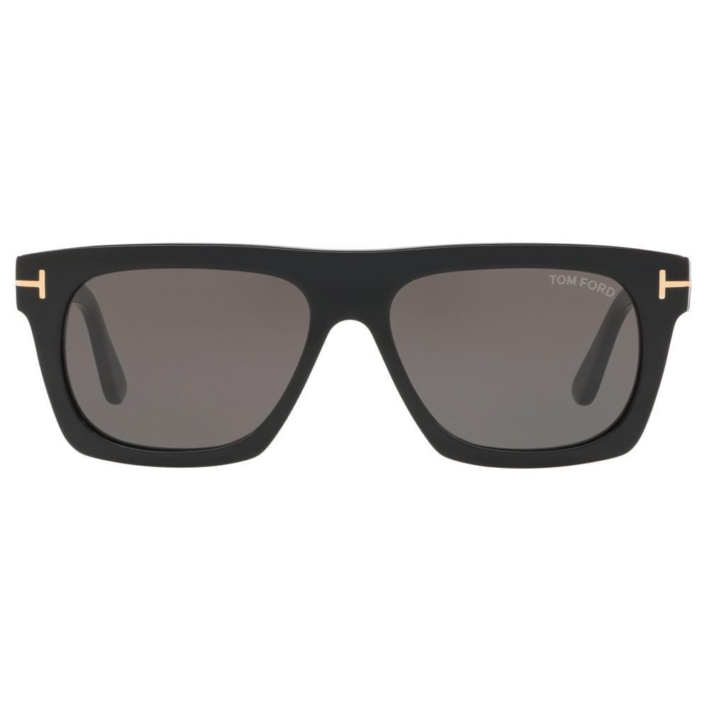 7ce4a7ef02 Tom Ford Ft059255 Men's Geometric Sunglasses in Black for Men - Lyst