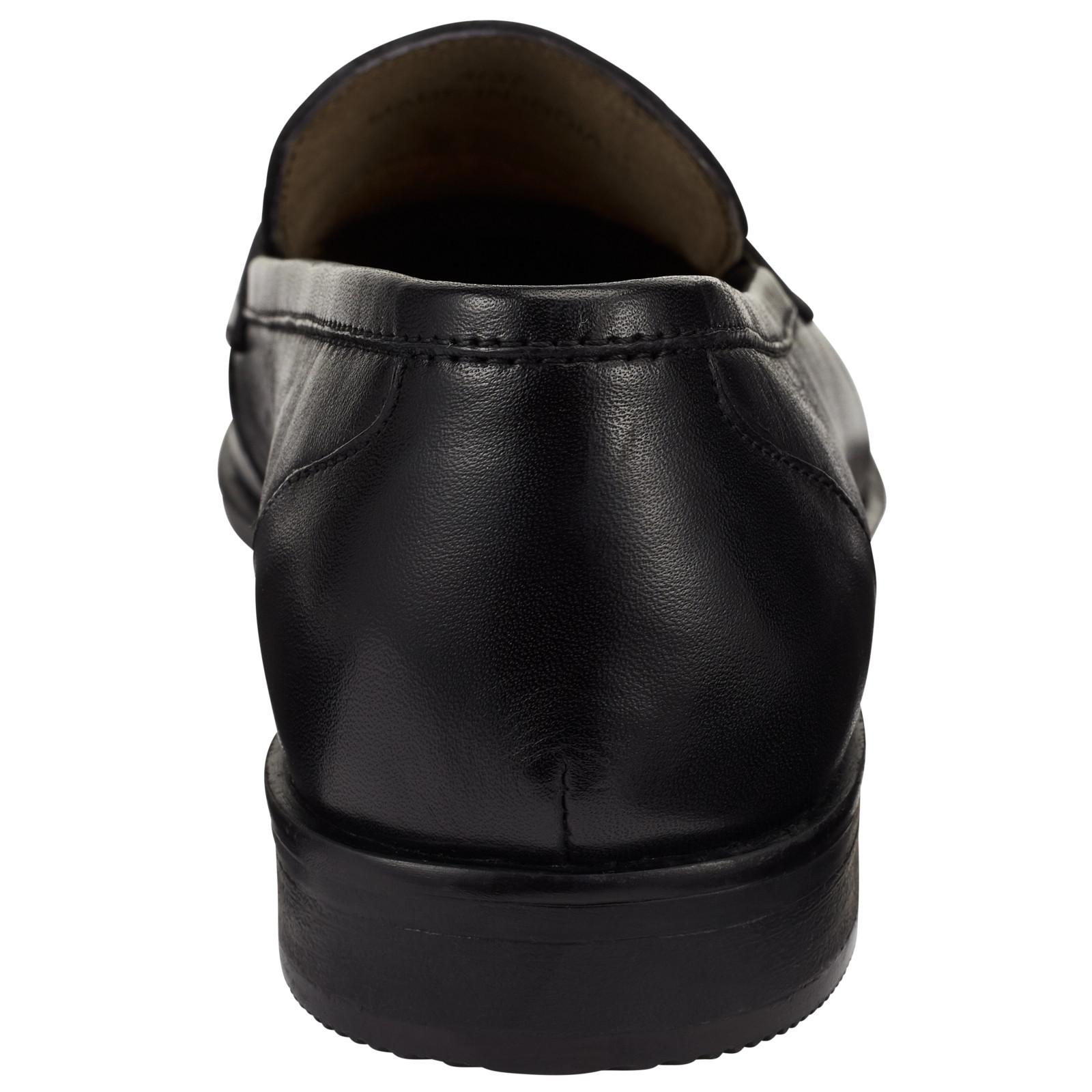 John Lewis Leather Graye Loafers in Black Leather (Black) for Men