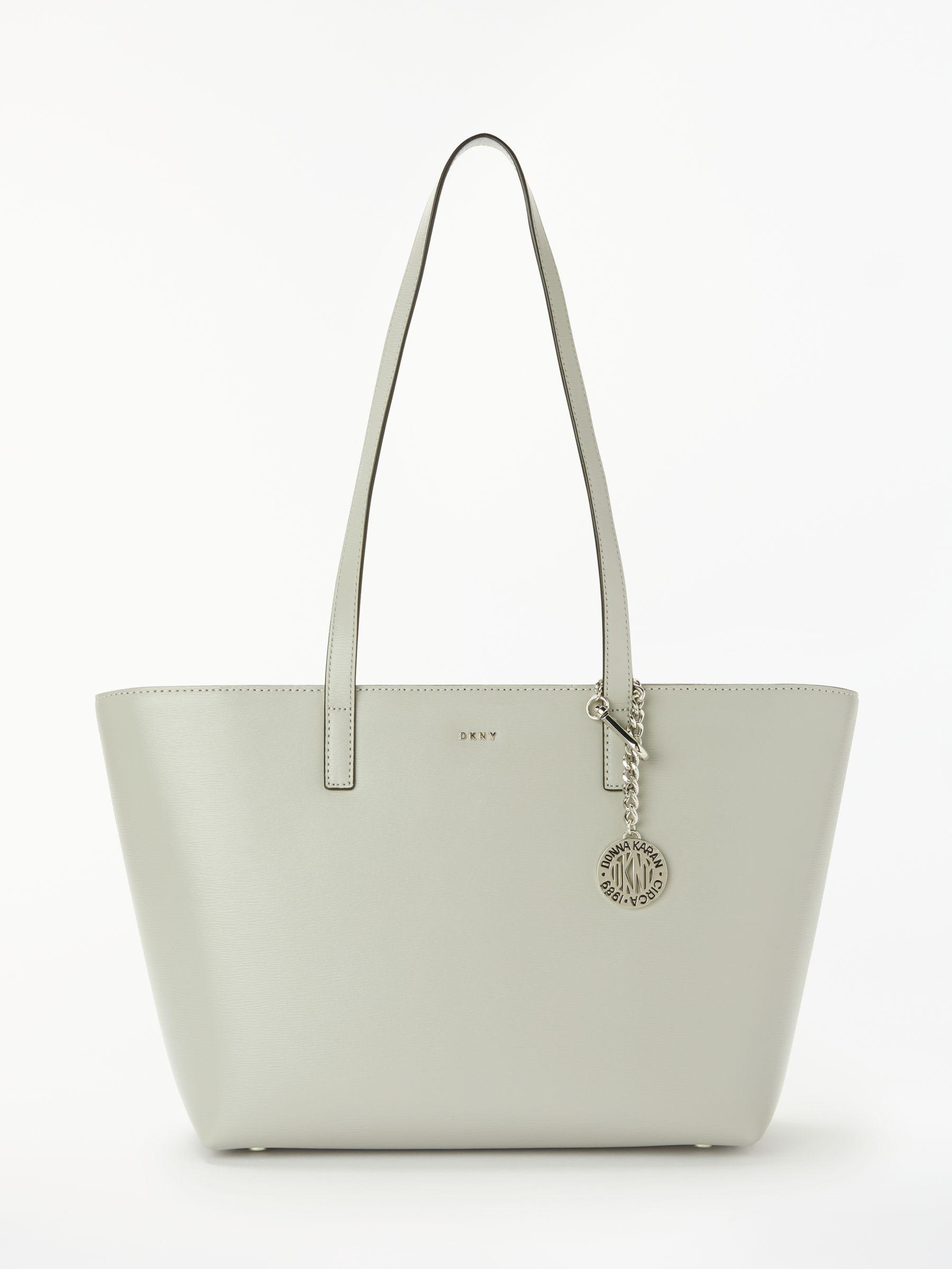 fd5114d28 DKNY - Gray Bryant Medium Leather Tote Bag - Lyst. View fullscreen
