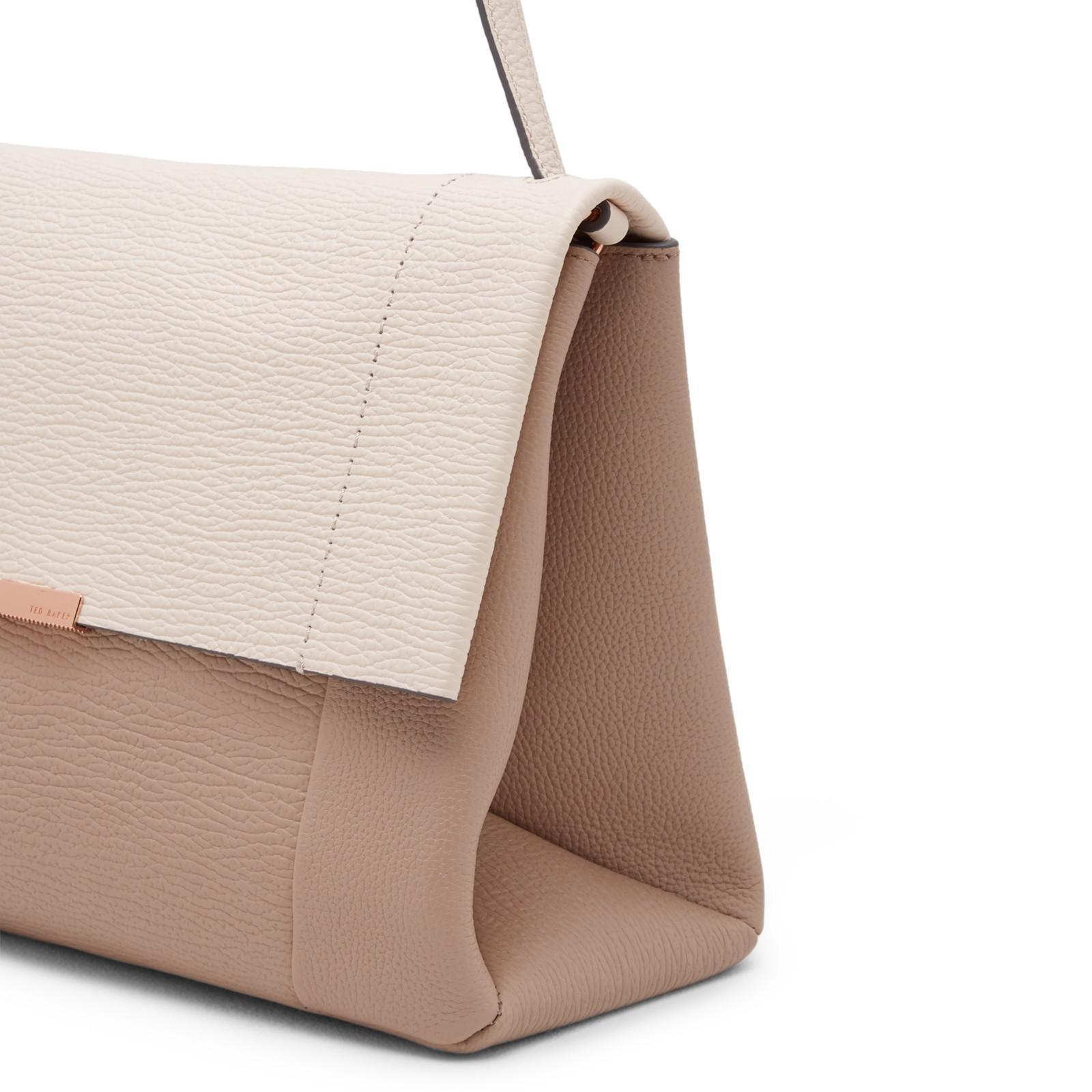 4530b6a464cd7d Ted Baker Proter Leather Shoulder Bag - Lyst