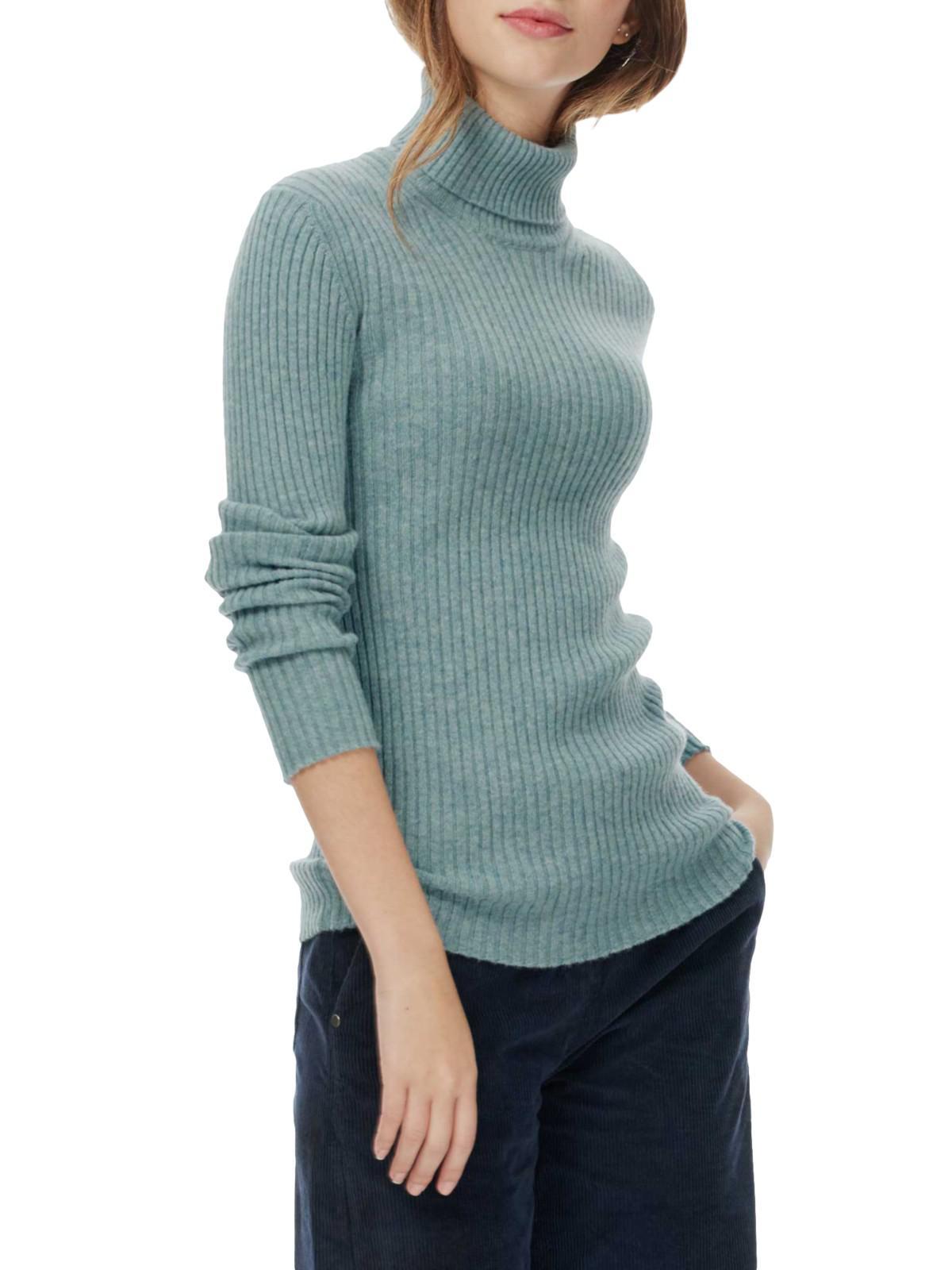 5a269b21ba0 Brora Blue Cashmere Skinny Ribbed Polo Shirt