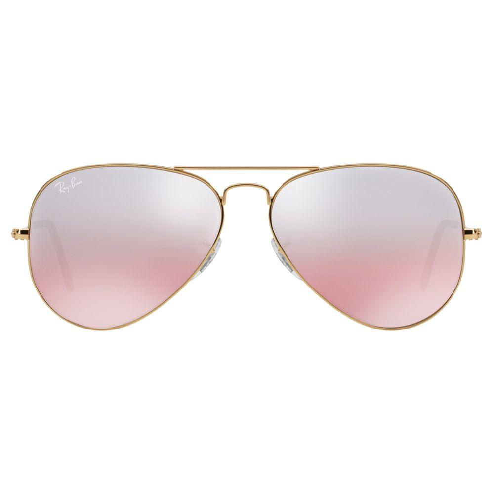 Ray-Ban Rb3025 Aviator Sunglasses in Pink for Men