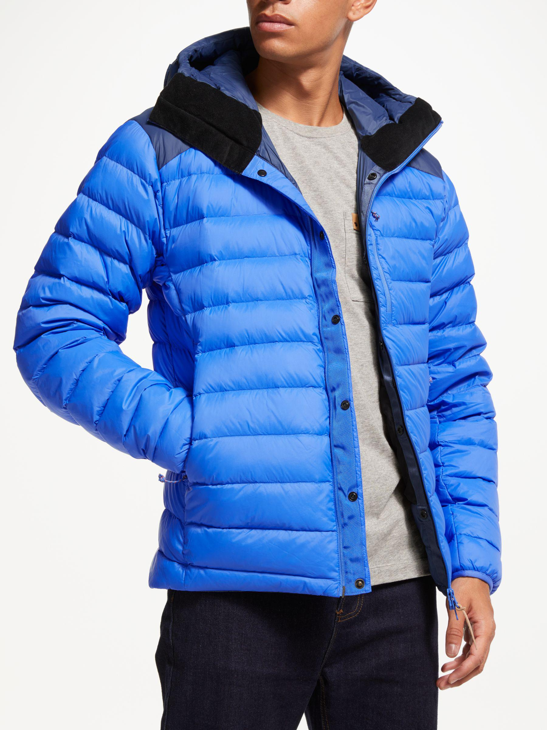 70a47fd1b8 Fjallraven Keb Touring Down Puffer Jacket in Blue for Men - Lyst