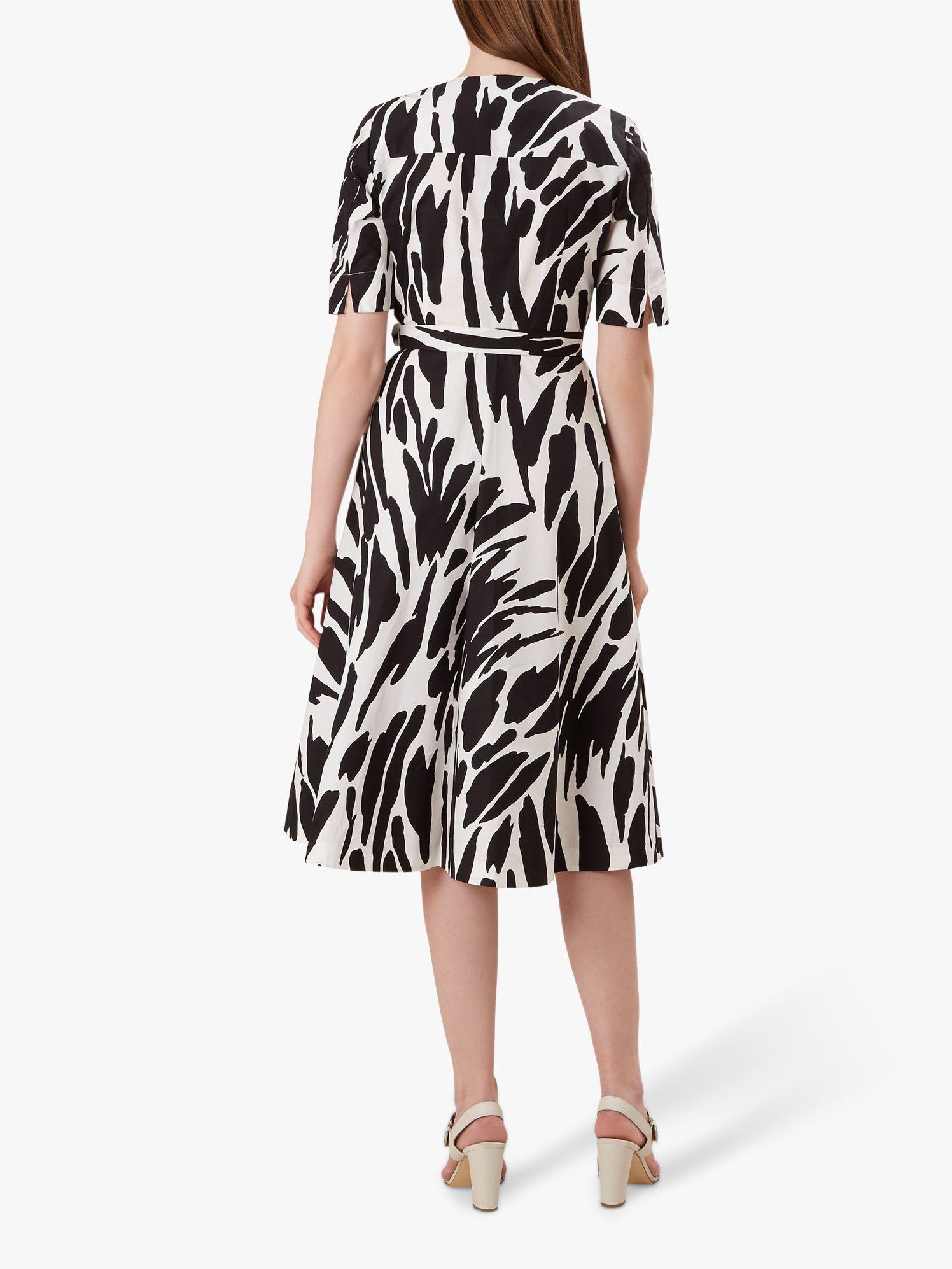RRP £99. Hobbs Justina Black Ivory Dress Various Sizes