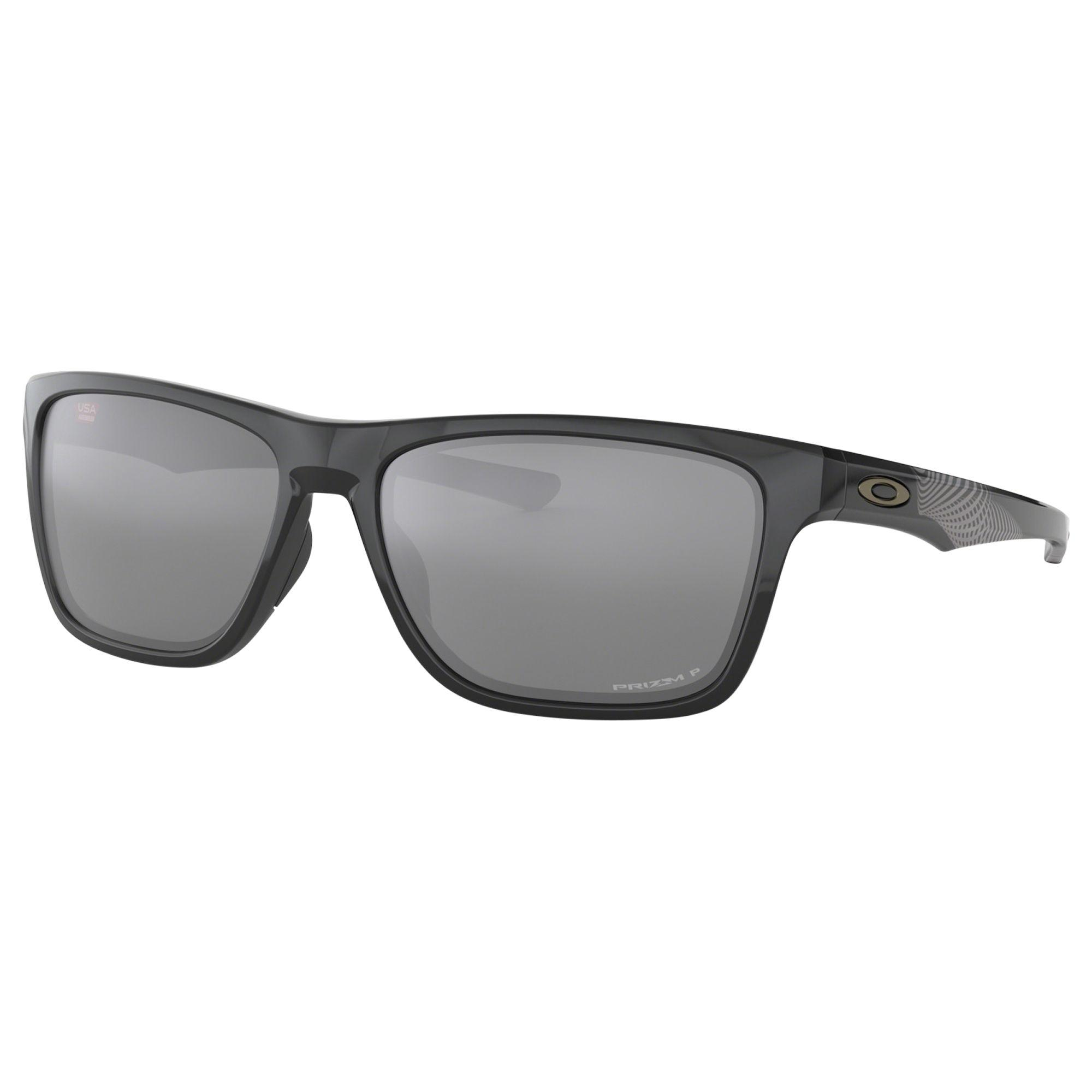122dd4445b Oakley. Black Oo9334 Men s Holston Prizm Polarised Square Sunglasses. £130  From John Lewis ...