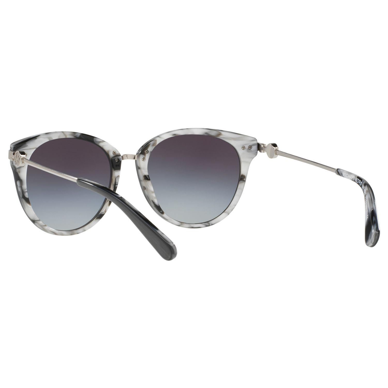Michael Kors Mk6040 Abela Iii Round Sunglasses in Grey