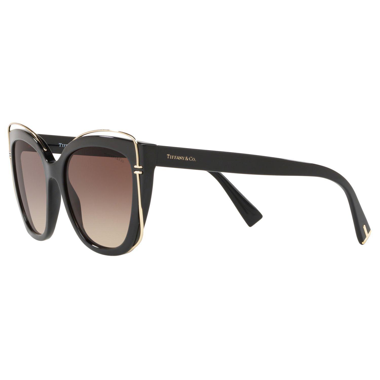 21e41391df2ef Tiffany   Co. Tf4148 Women s Cat s Eye Sunglasses in Brown - Lyst