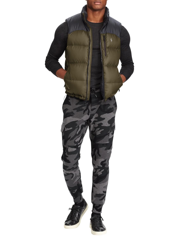 a16b7c8e9 Ralph Lauren Synthetic Polo El Cap Fill Vest in Green for Men - Lyst