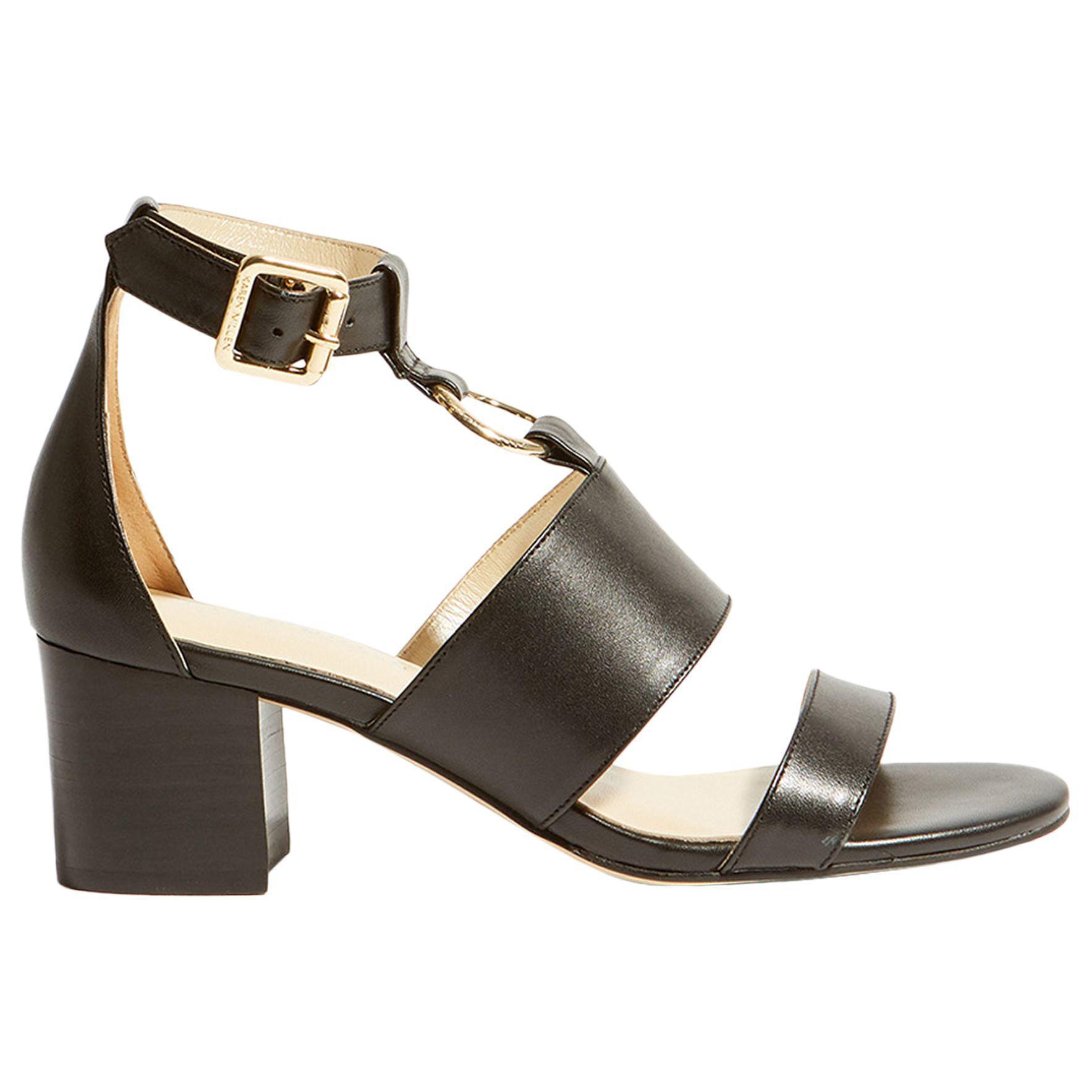 c99704b06b0 Karen Millen. Women s Black O-ring Block Heel Sandals. £135 £65 From John  Lewis and Partners