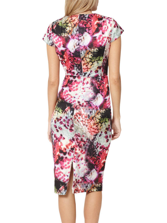 f1d183293a John Lewis Damsel In A Dress Rainbow Leopard Print Dress - Lyst