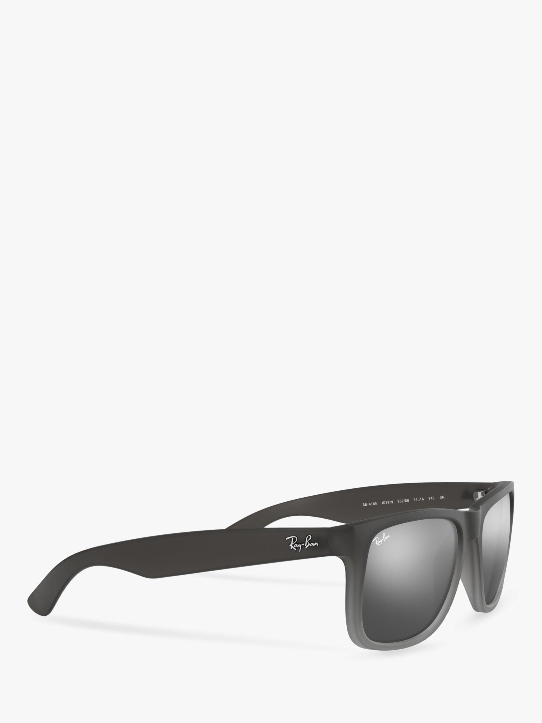 6a38e1284d Ray-Ban Rb4165 Men s Justin Rectangular Sunglasses in Gray for Men ...