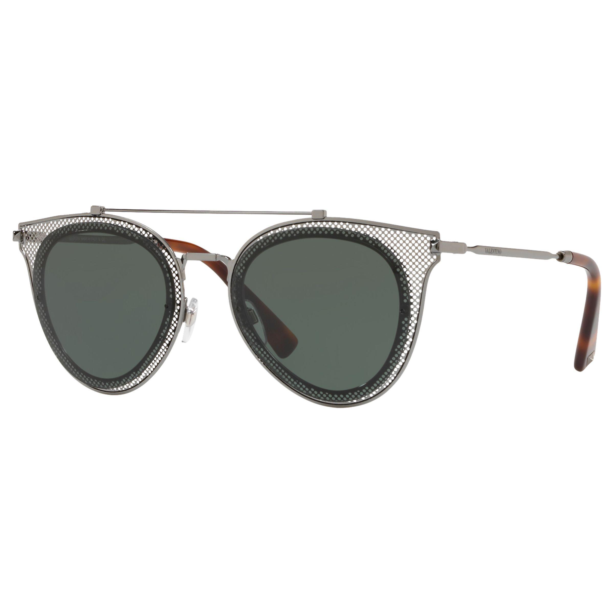 c7090e5bb5d59 Valentino Va2019 Round Sunglasses - Lyst