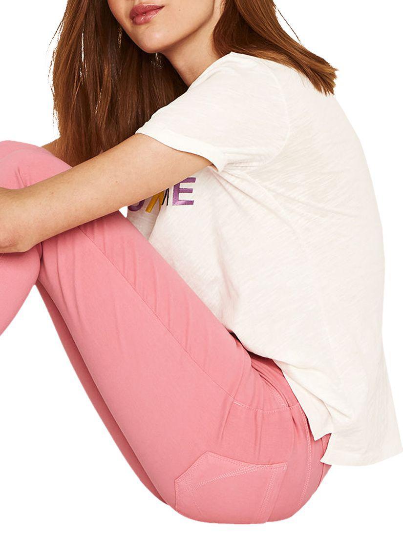 Oasis Denim Jade Jeans in Pink