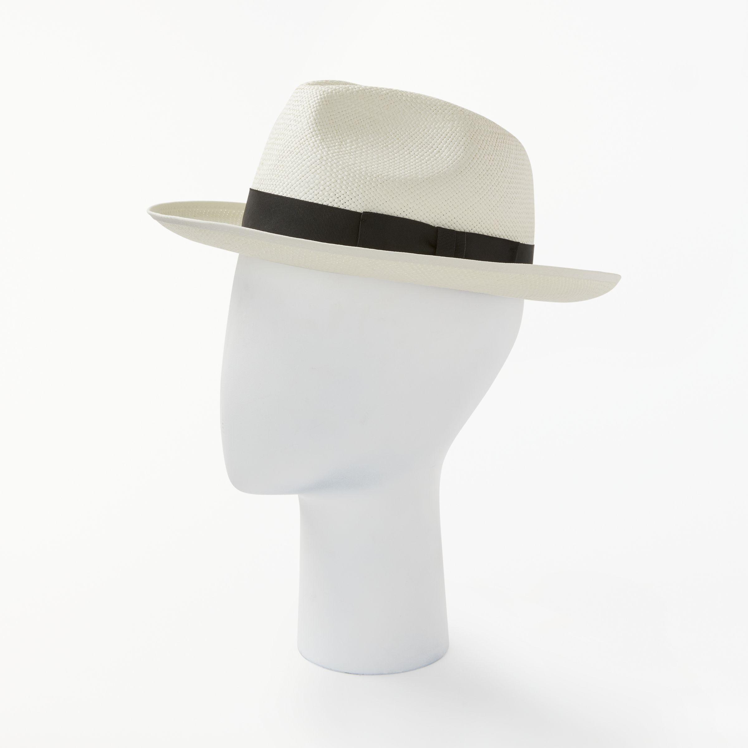eb85d28e Christys' Bleached Classic Preset Panama Hat for Men - Lyst