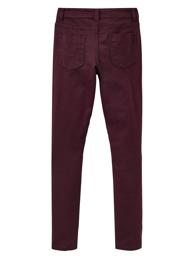 Joules Denim Monroe Skinny Jeans in Burgundy (Purple)