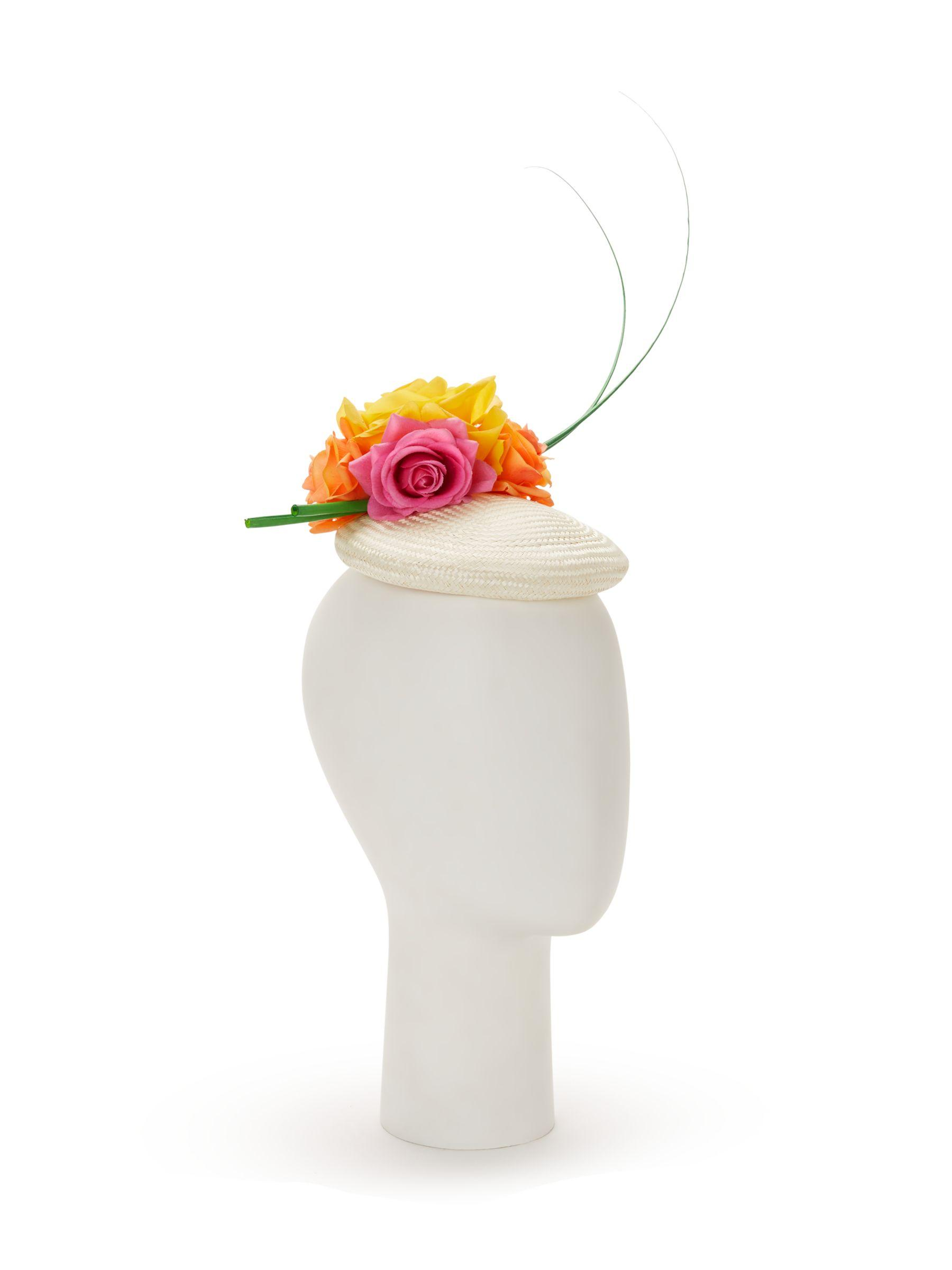113bbb99b4045 Bundle Maclaren Millinery Charlotte Flower Pillbox Fascinator - Lyst