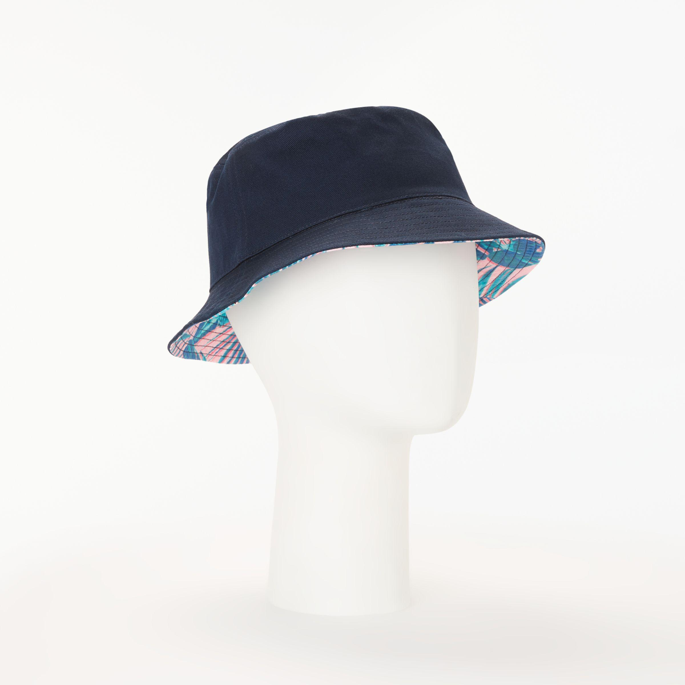 c7d6d654998 Lyst - John Lewis Reversible Bucket Hat in Blue
