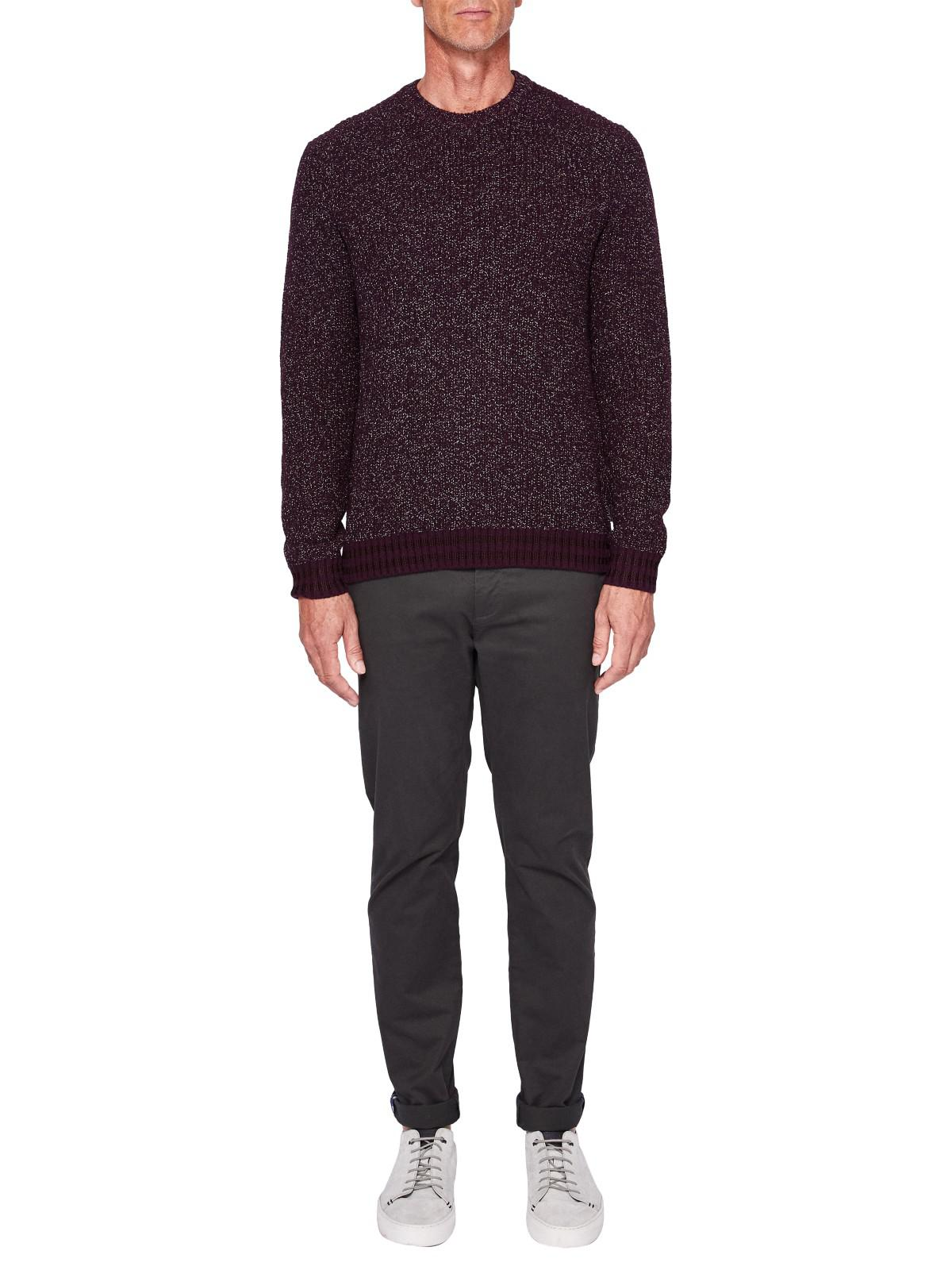 Ted Baker Cotton T For Tall Procott Trousers in Dark Green (Green) for Men
