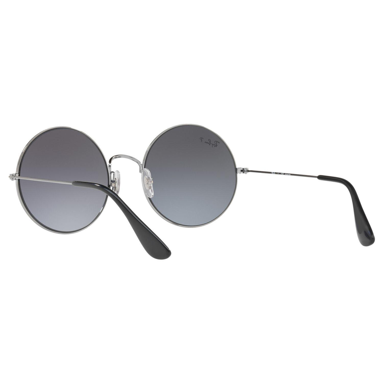 Ray-Ban Rb3592 Ja-jo Polarised Round Sunglasses in Grey (Grey)