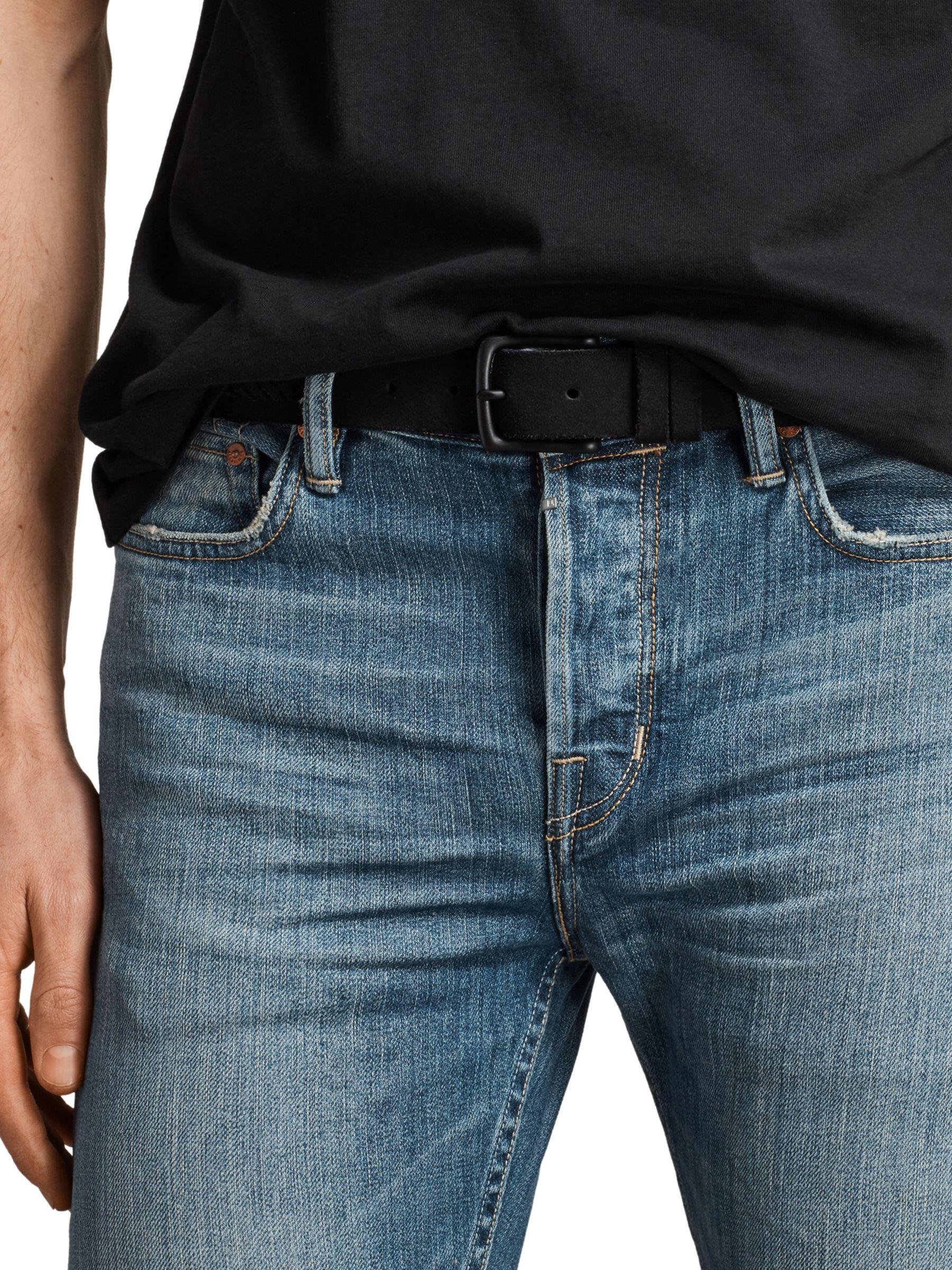 AllSaints Denim Ione Cigarette Skinny Fit Jeans in Indigo (Blue) for Men