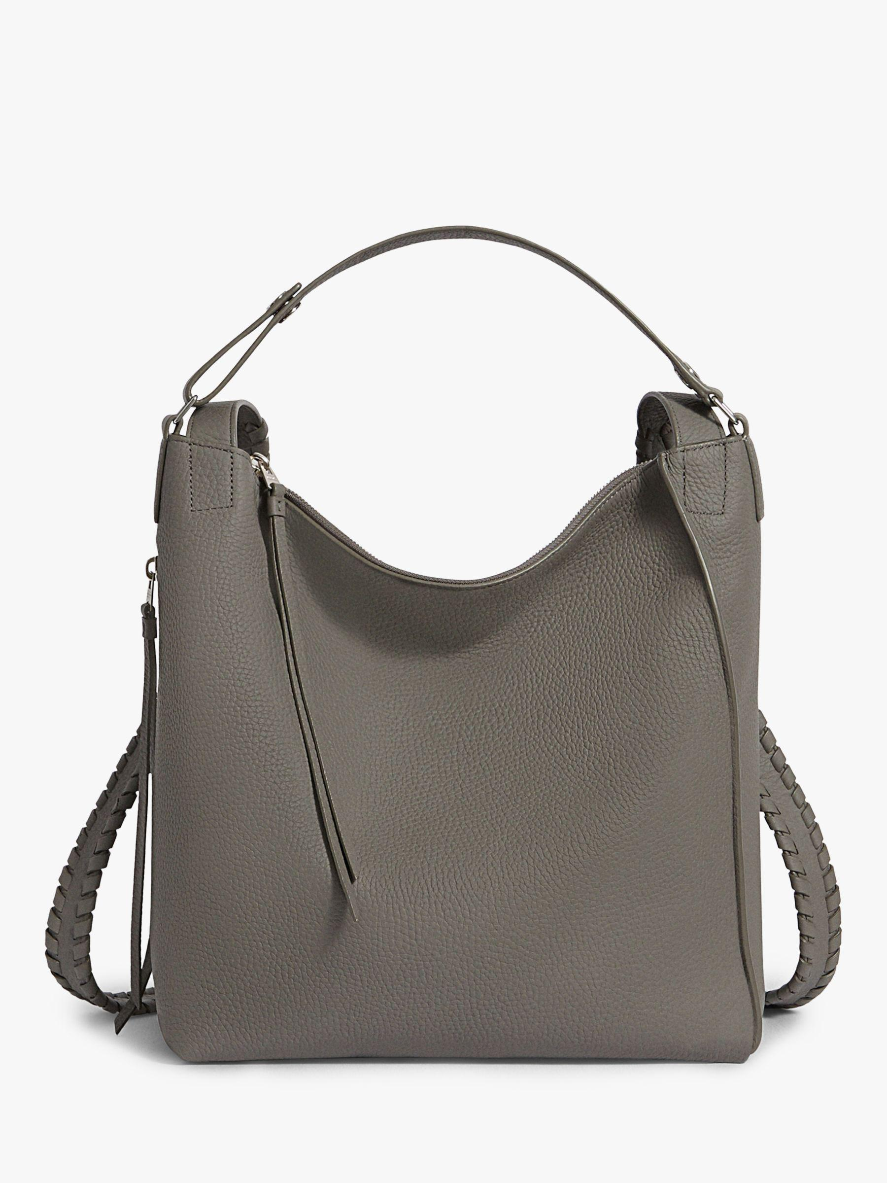 7d25541796 AllSaints Kita Leather Small Backpack in Gray - Lyst
