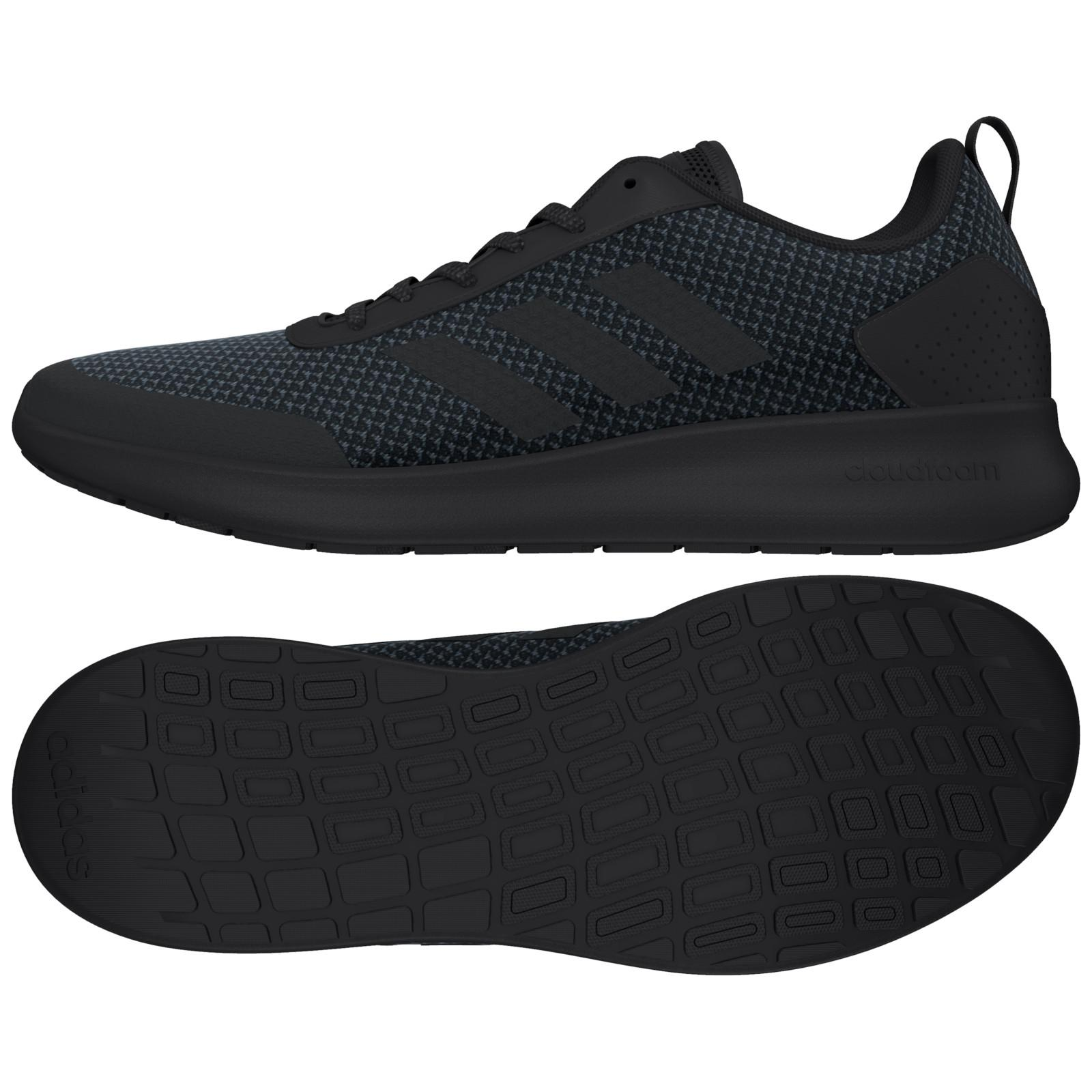 ... best price adidas cloudfoam element race running shoes in black for men  lyst c2c6f d1fd9 851dae697