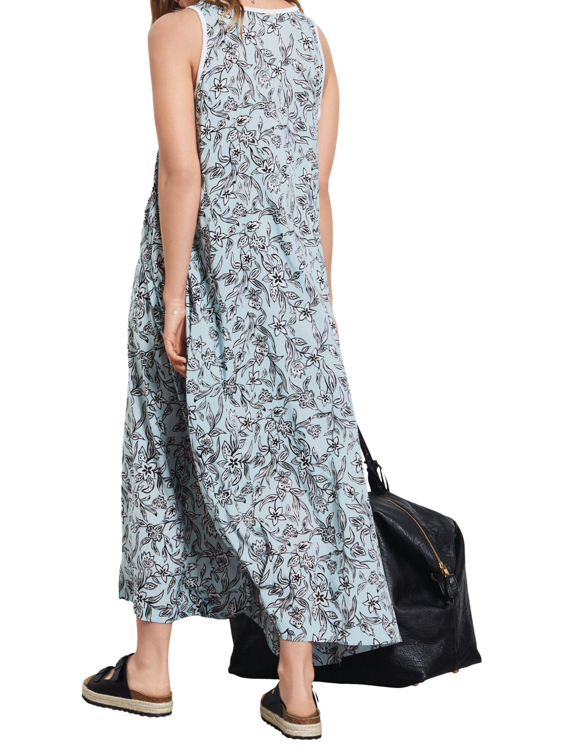 e89c6428fa1 John Lewis Hush Panel Maxi Dress in Blue - Lyst