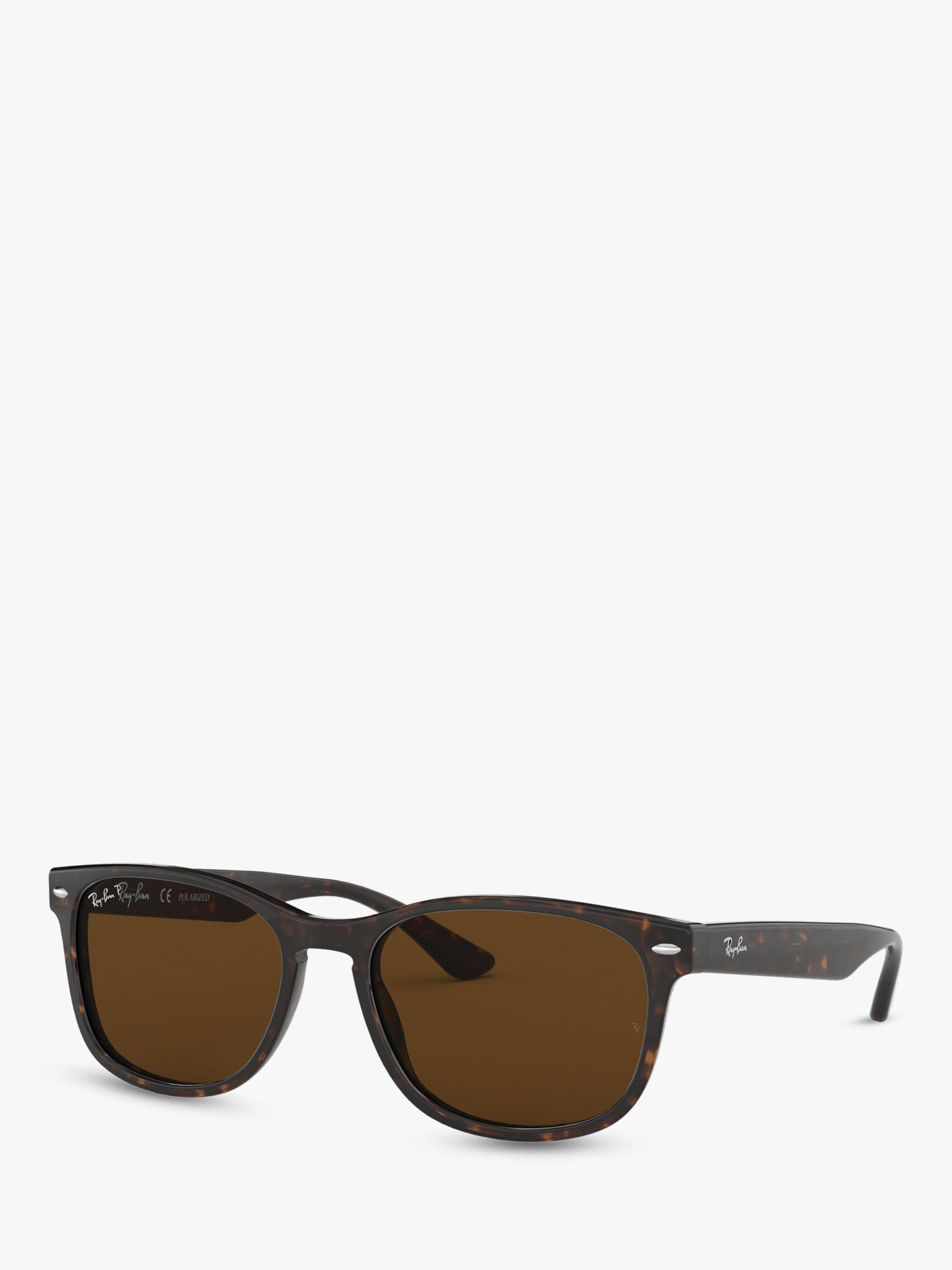 f33f251a56 Ray-Ban Rb2184 Women s Polarised Square Sunglasses in Brown - Lyst