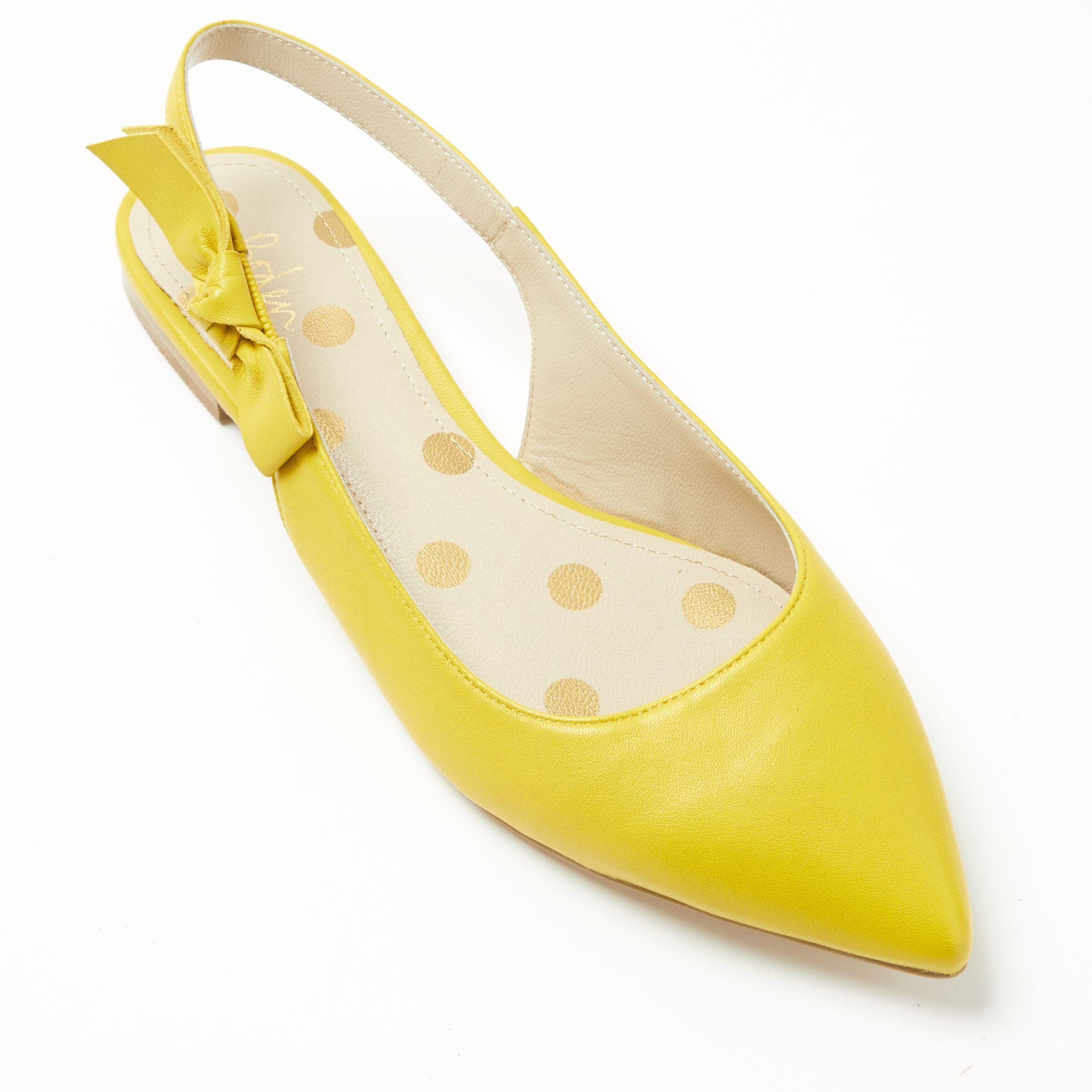 4da9a4dedcb Boden Hilary Slingback Pumps in Yellow - Lyst