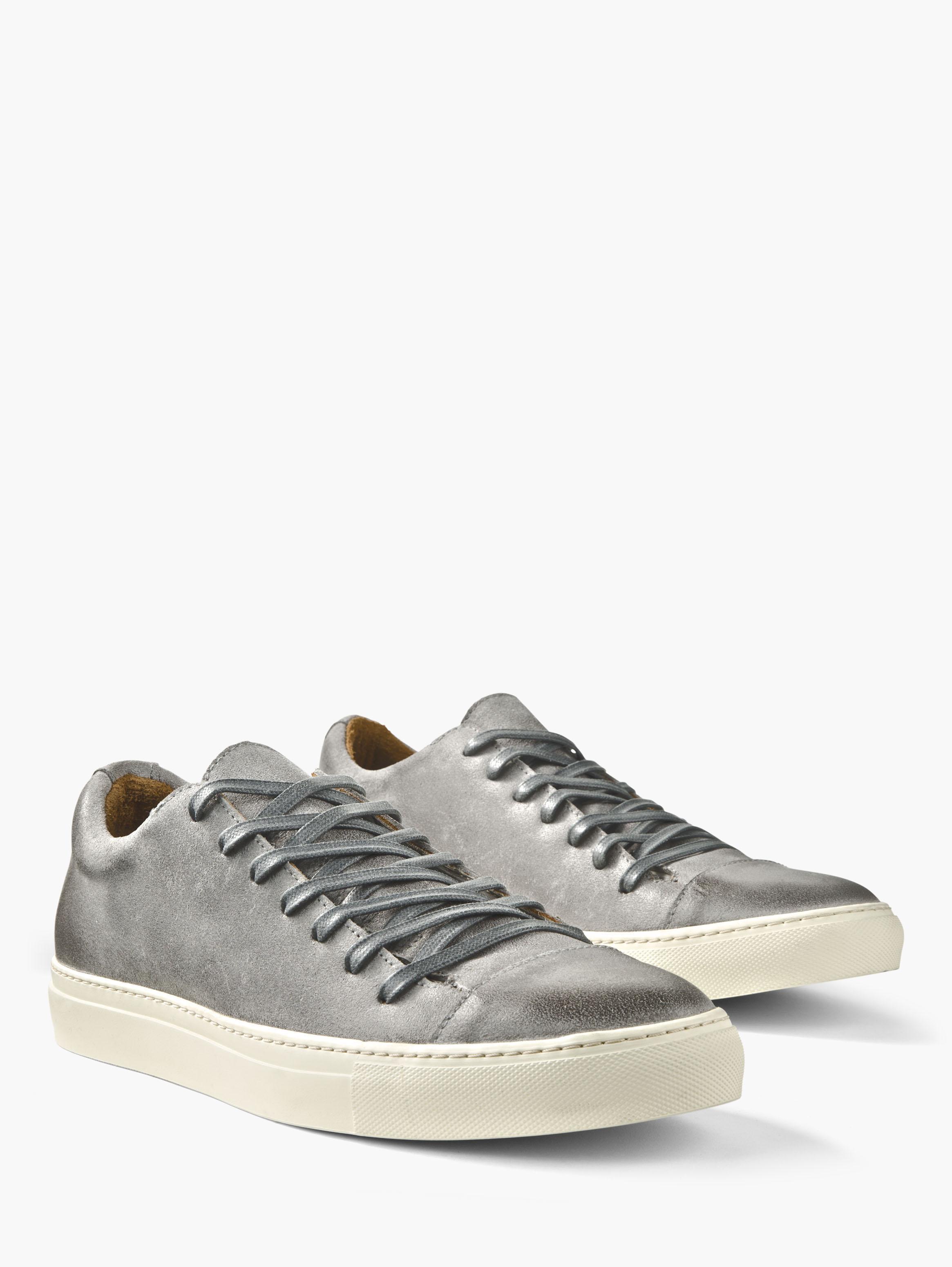 John Varvatos Reed Fringe Mid Top Sneaker Bone White Size: 11 2pNccEn8z