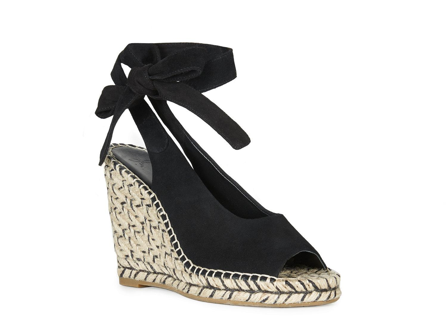 80dd7d1424a Joie Kael Espadrille Wedge in Black - Lyst